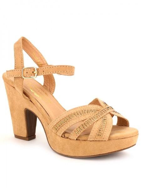 Color Bo' AimeCendriyon Sandale Taupe Sandale Taupe Color Sandale Bo' AimeCendriyon Rj54AL