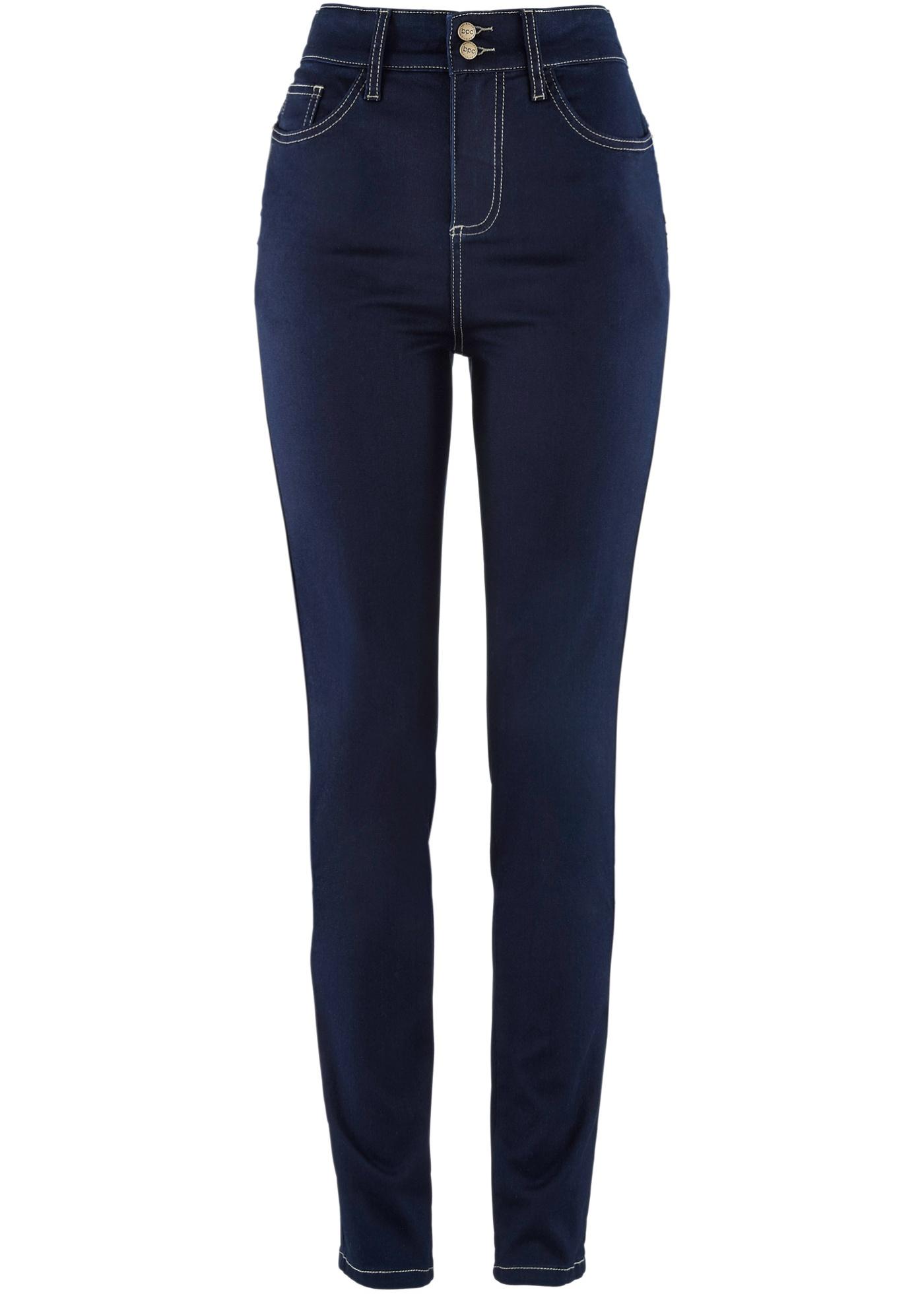 Bpc Power Pour Bonprix Femme CollectionJean up Push Noir StretchHighwaist uTlKc5F13J