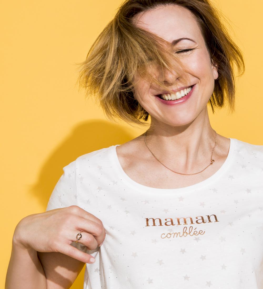 shirt Des Fête Mères Étoiles Camaïeu T Femme NwOZ8nPkX0