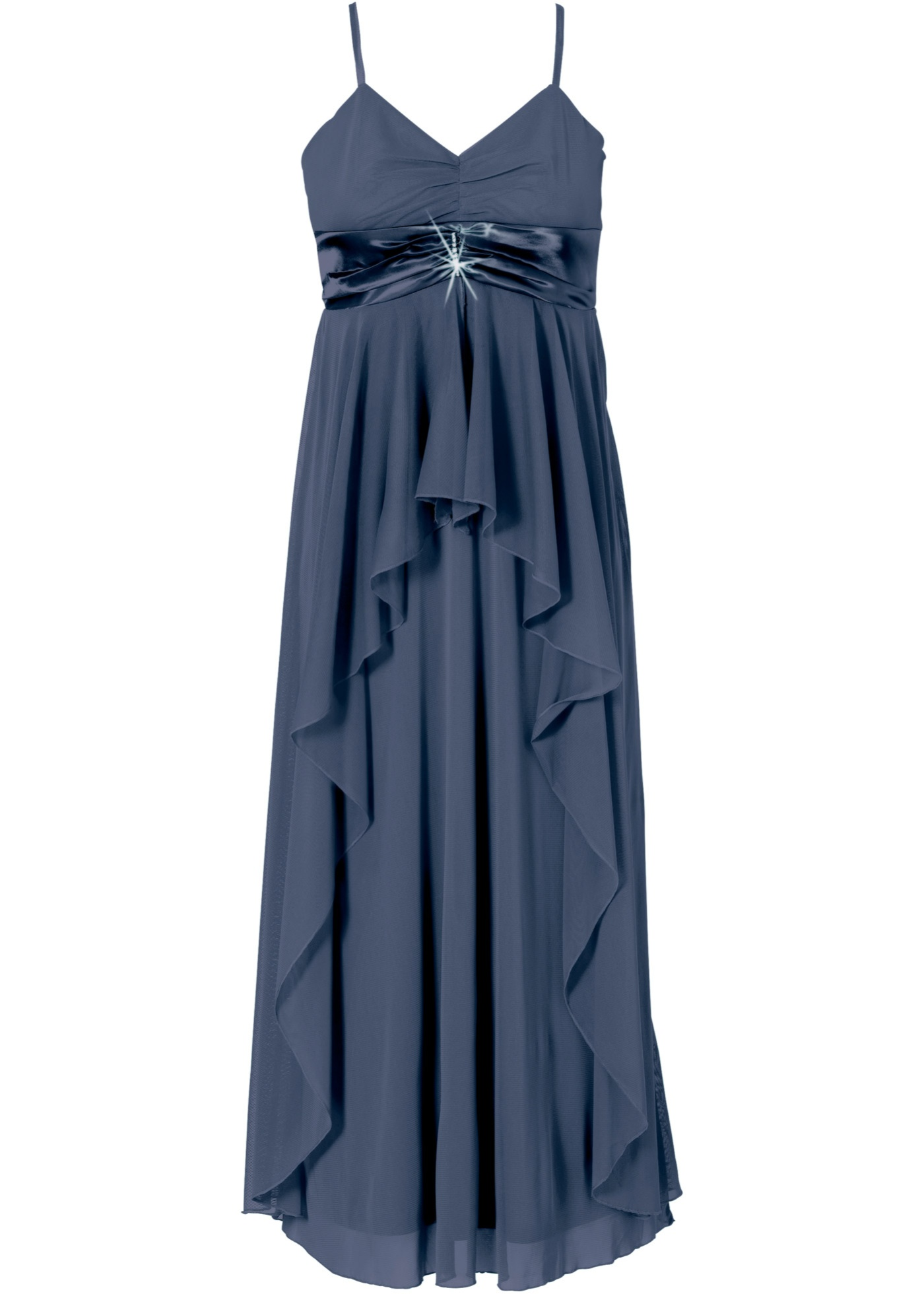 BonprixRobe Manches Longue Bleu Sans Pour Bodyflirt D'été Femme nm0wONyv8P