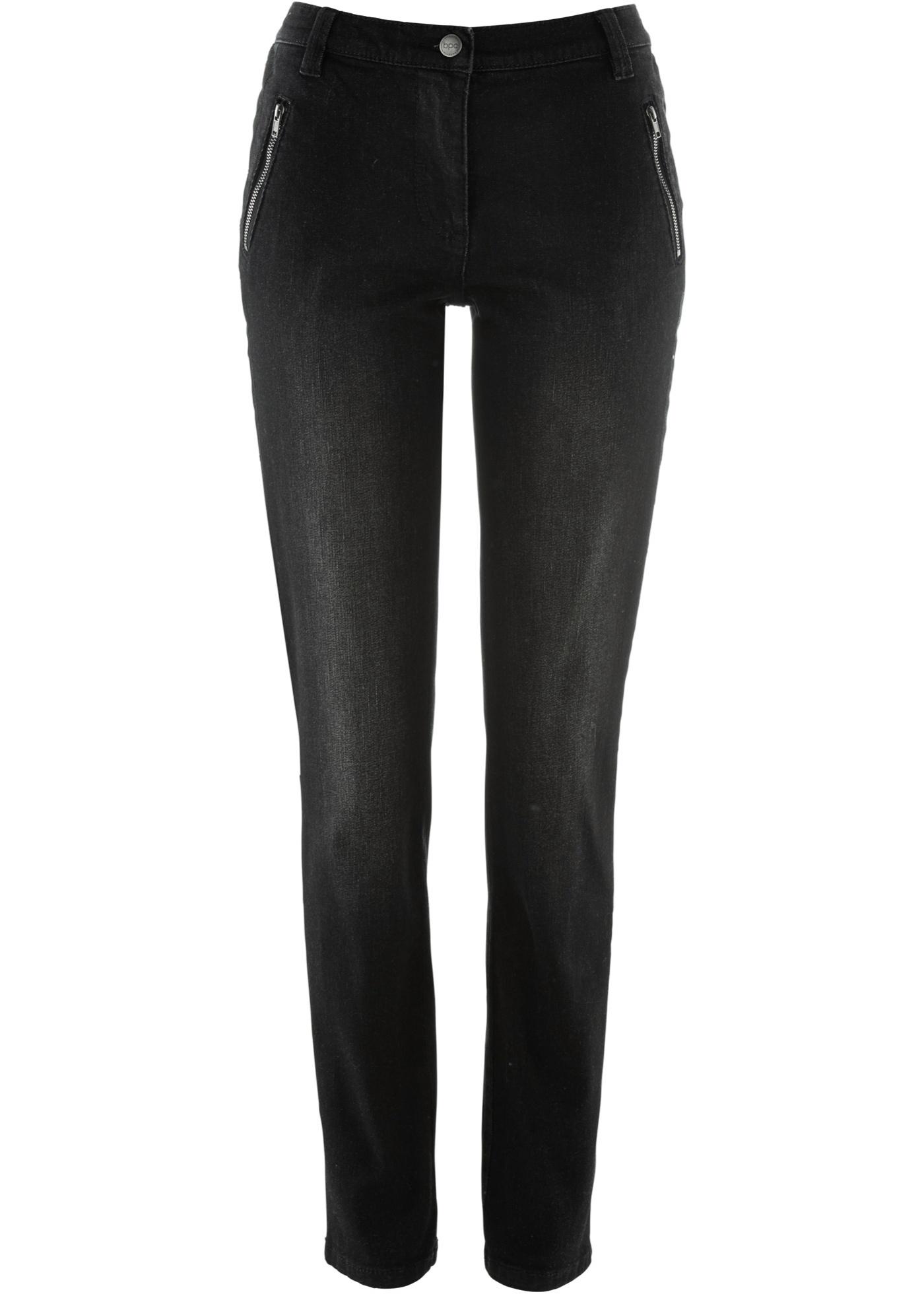 Noir Pour Bpc Femme Bonprix CollectionJean Amincissant fb6gY7yv