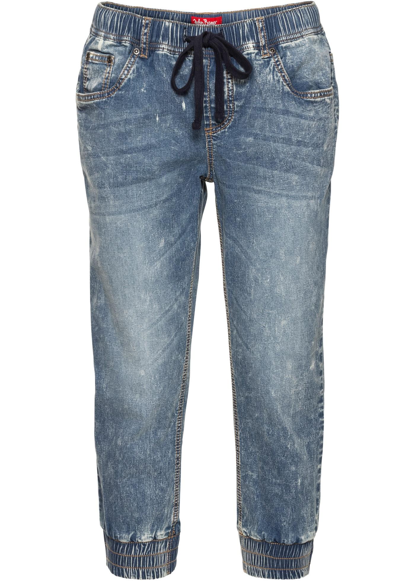 Pour 4 Coulissé Femme BonprixJean John Bleu Élastique Jeanswear 3 Extensible Longueur Avec Baner 6fbgy7