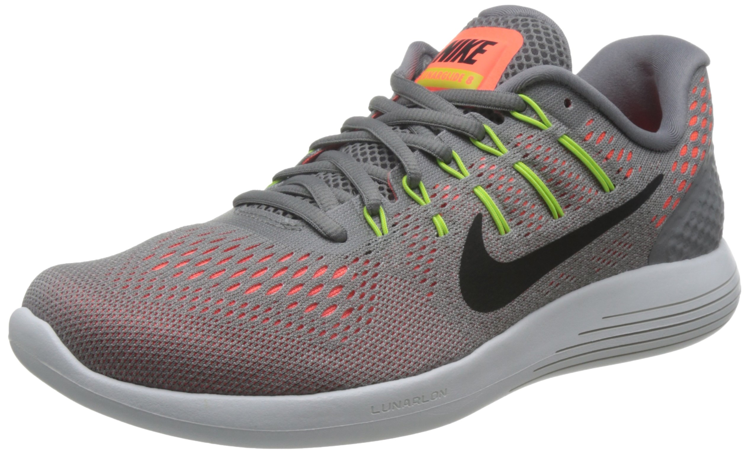 schwarz45 Running Nike 8Chaussures Compétition Lunarglide hyper Orange elektrolimette De Eu HommeMulticolorestaub W9EIDYHeb2