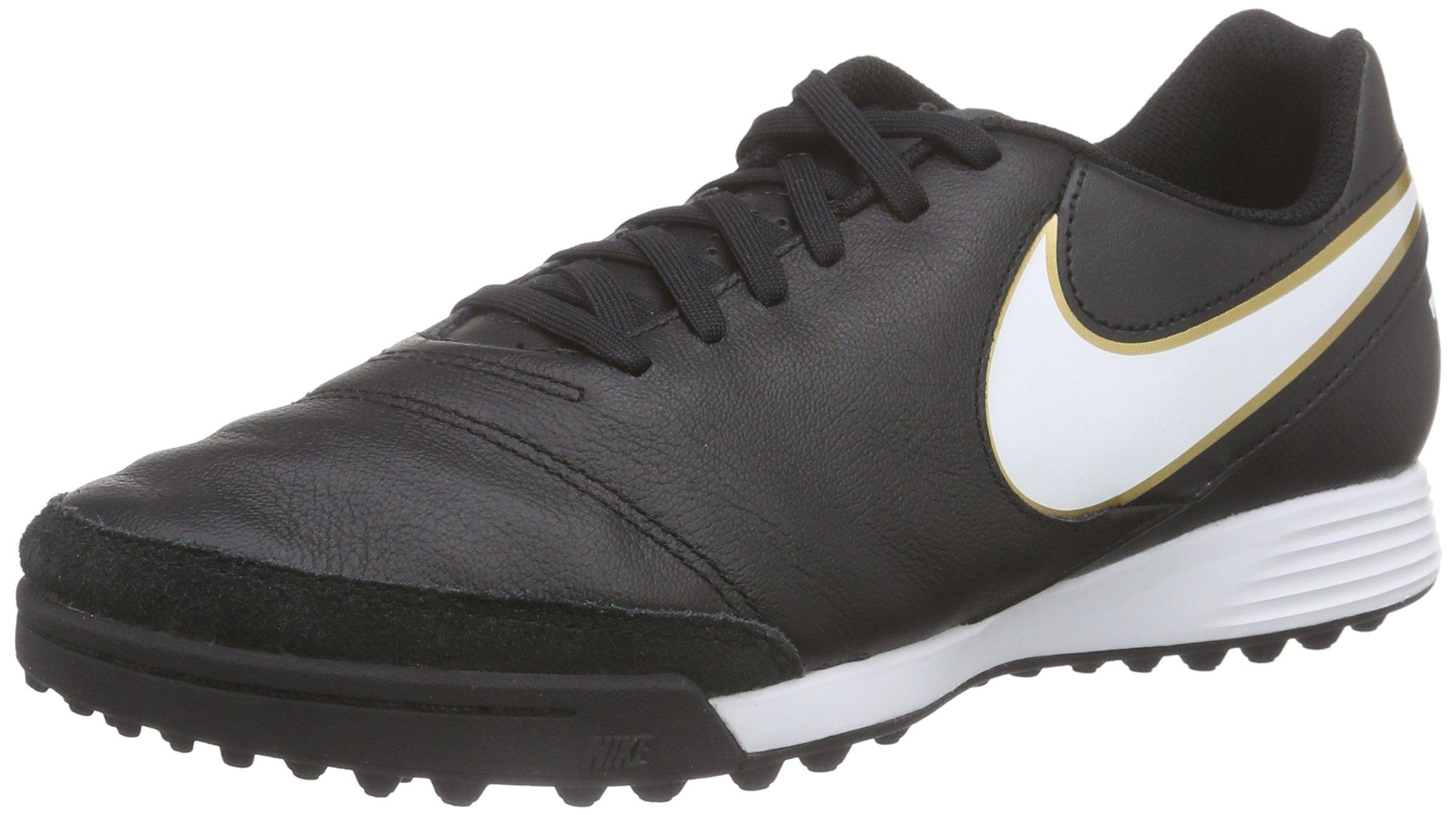 HommeNoirblack De Nike white Gold47 Eu metallic TfChaussures Genio Ii Tiempo Football nOk8PX0w