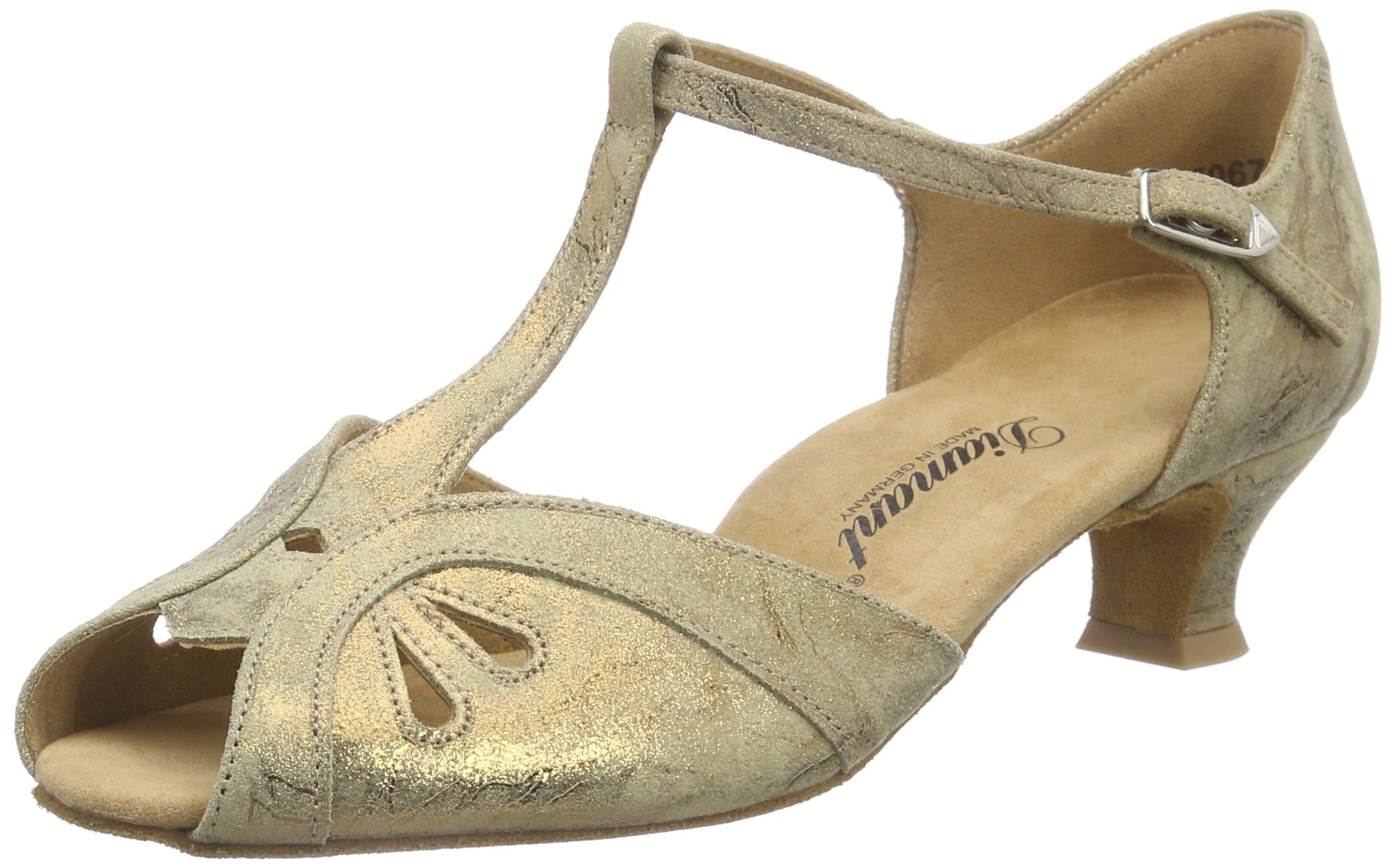 Damen 2 3 Tanzschuhe 019 311Chaussures De Salon Diamant FemmeMarronBraunbronze Magic42 011 Danse Eu 80PknwONX