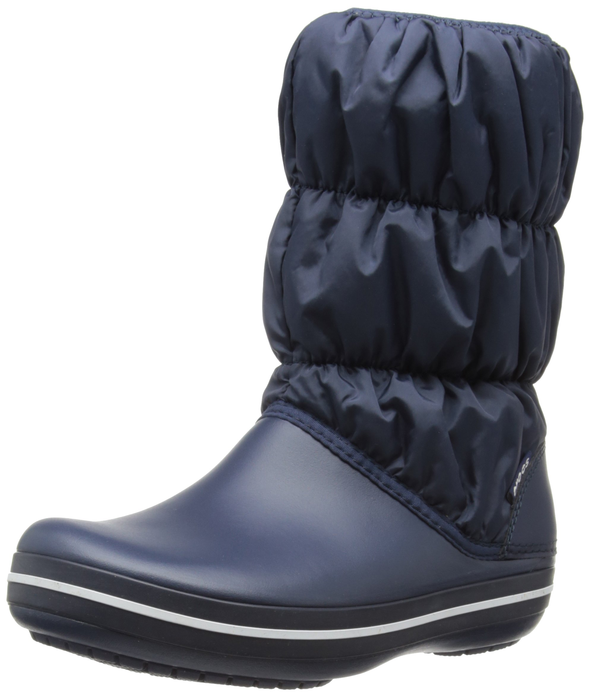 Neige Eu Puff navy37 Boot Crocs Winter De WomenBottes FemmeBleunavy 38 KJ1TcF3l