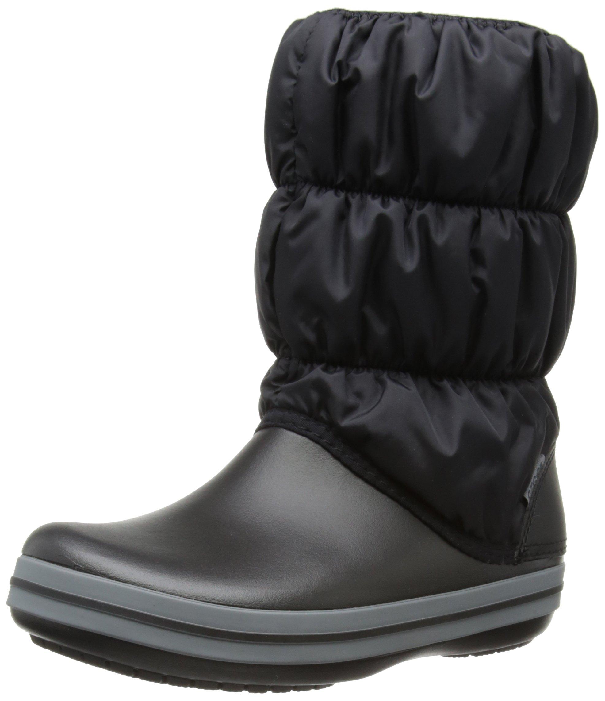 FemmeNoirblack De WomenBottes Crocs Eu Winter Boot 42 charcoal41 Neige Puff CxWerdBo