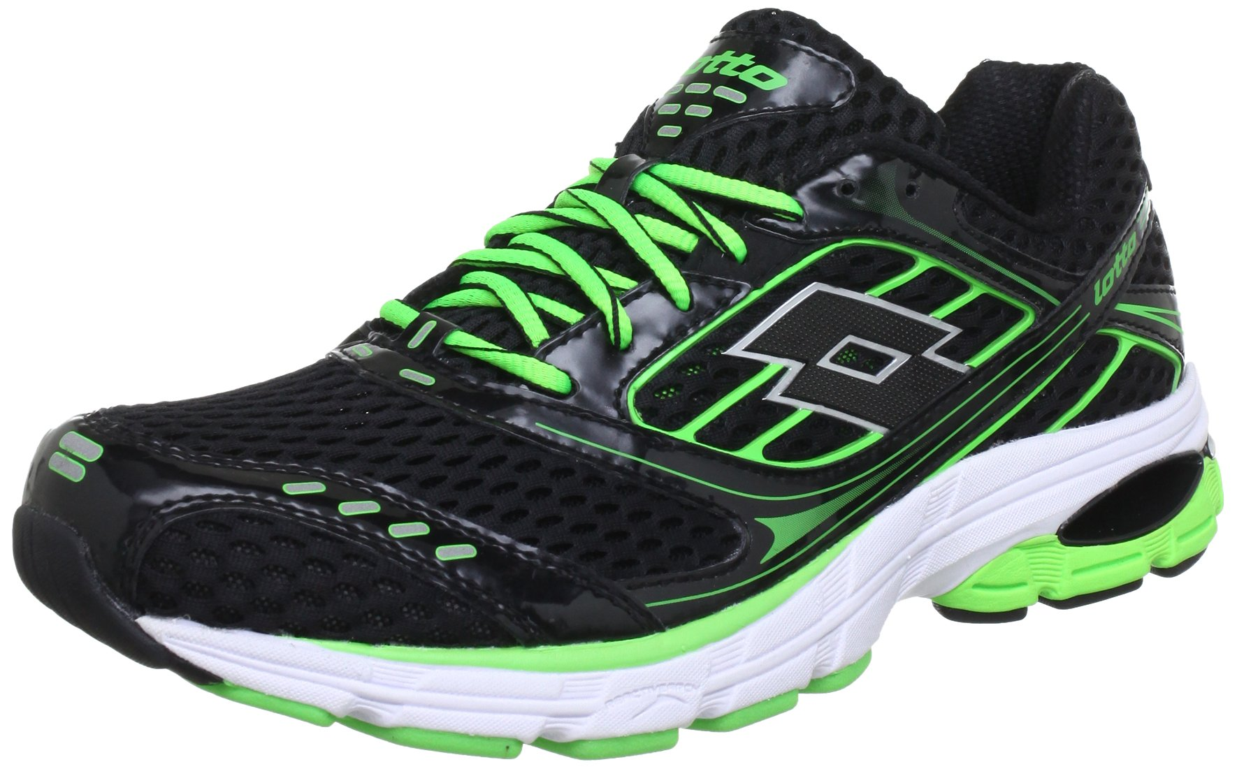 HommeNoirblk Q4052Baskets Mode n Eu Lotto Sport met green44 f76Ybgy