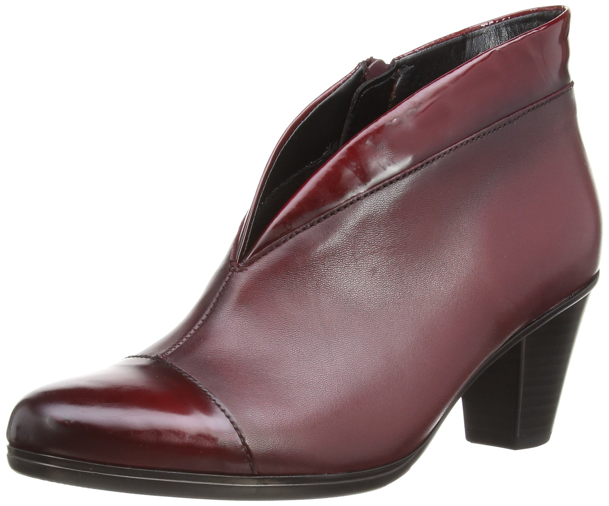 5 Leather patent Classiques Uk Eu5 Gabor FemmeRougedark 5 Red Trim38 EnfieldBottes n0O8PXkw