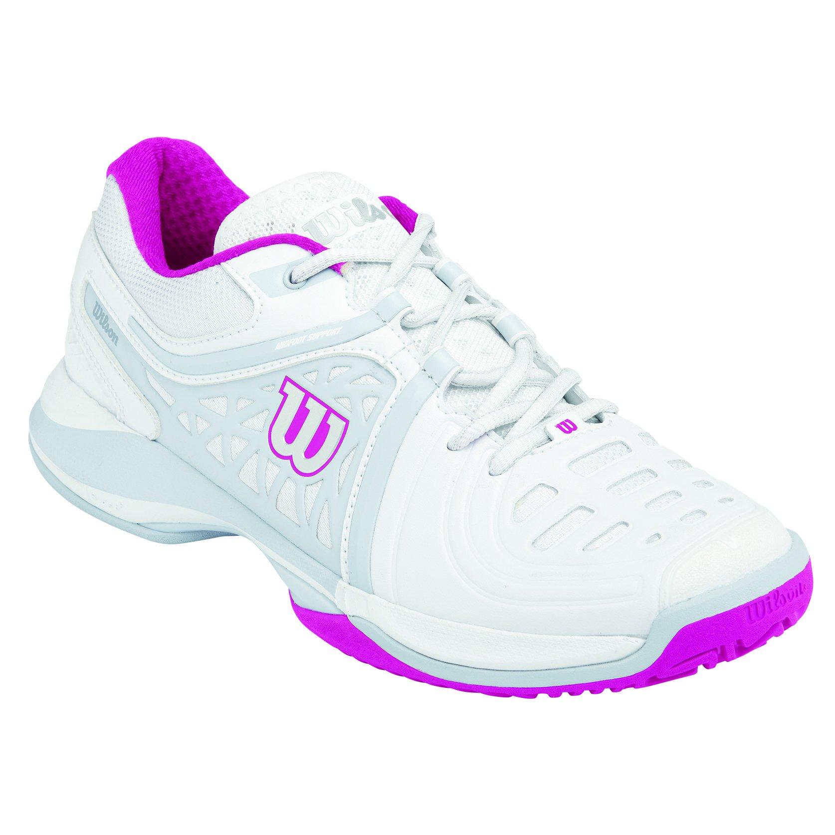 Wil W Pink 3 De fiesta P Wilson Wi43 1 Wh Gray Tennis pearl 9Chaussures Nvision Eu Elite FemmeBlancwhite O08nkwP