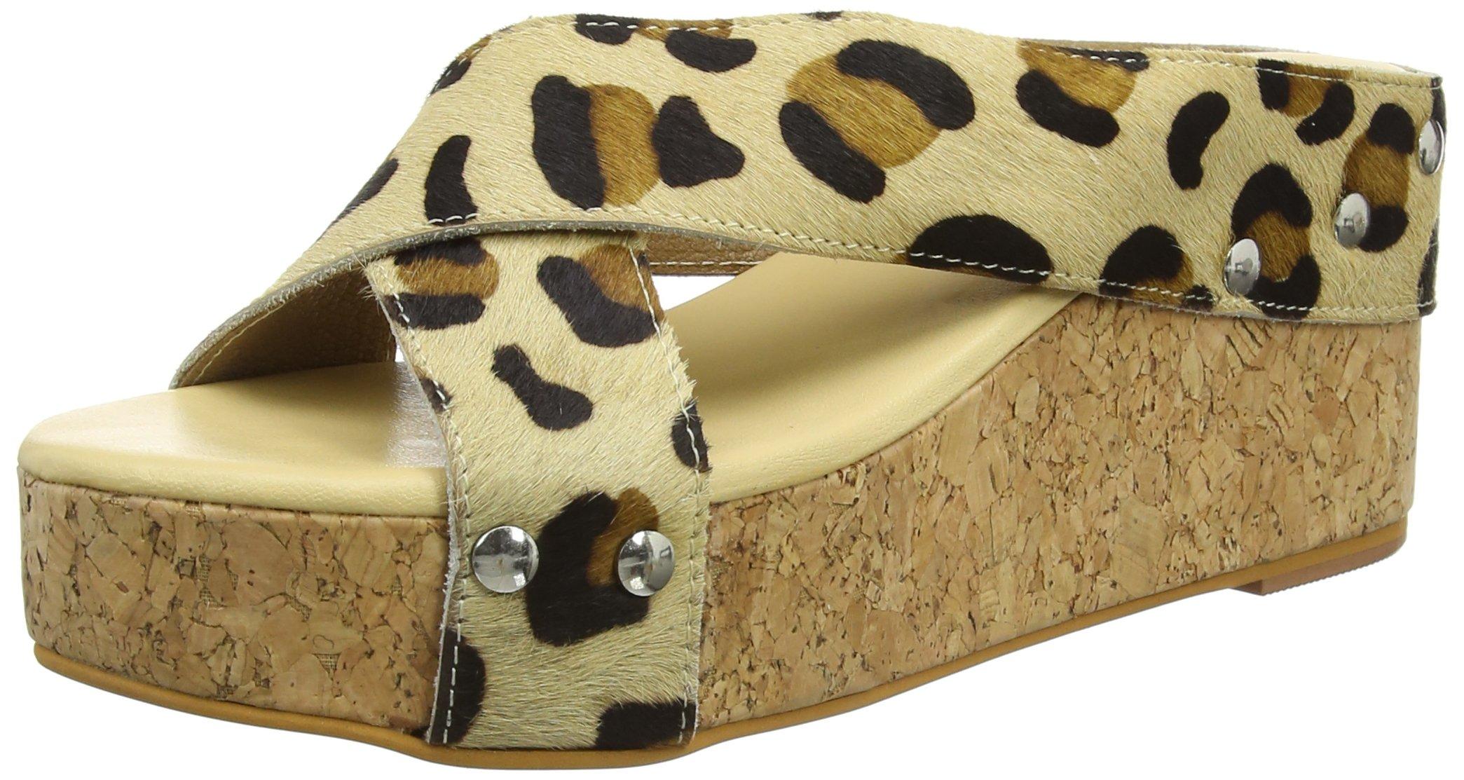 Wedge Sandals Tantra Animal PrintBrownleopard37 FemmeSandalesLeather Espadrille b6y7IYfgv