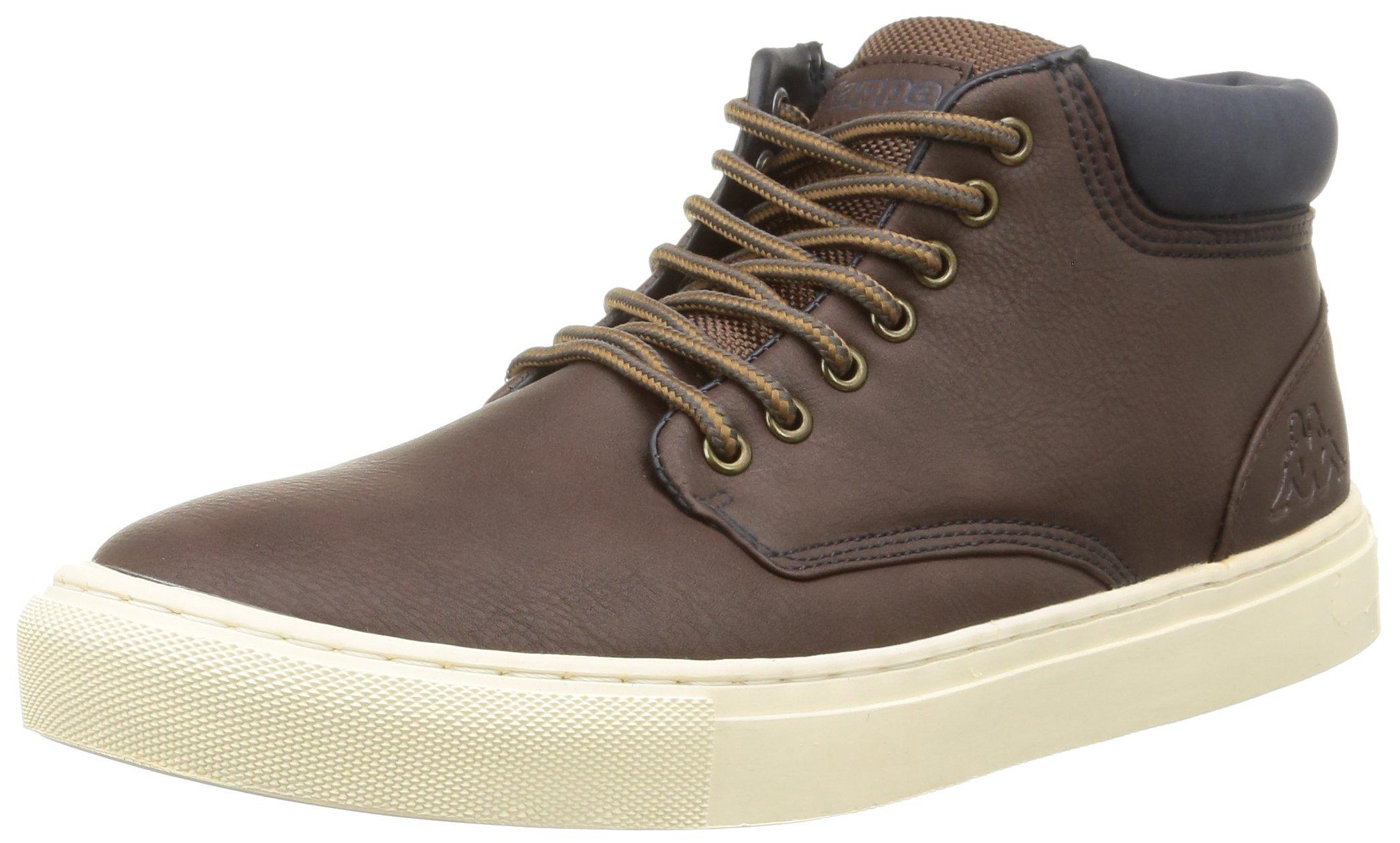 CoutemSneakers brown43 Eu Kappa Hautes HommeMarron932 0Pn8OwkX