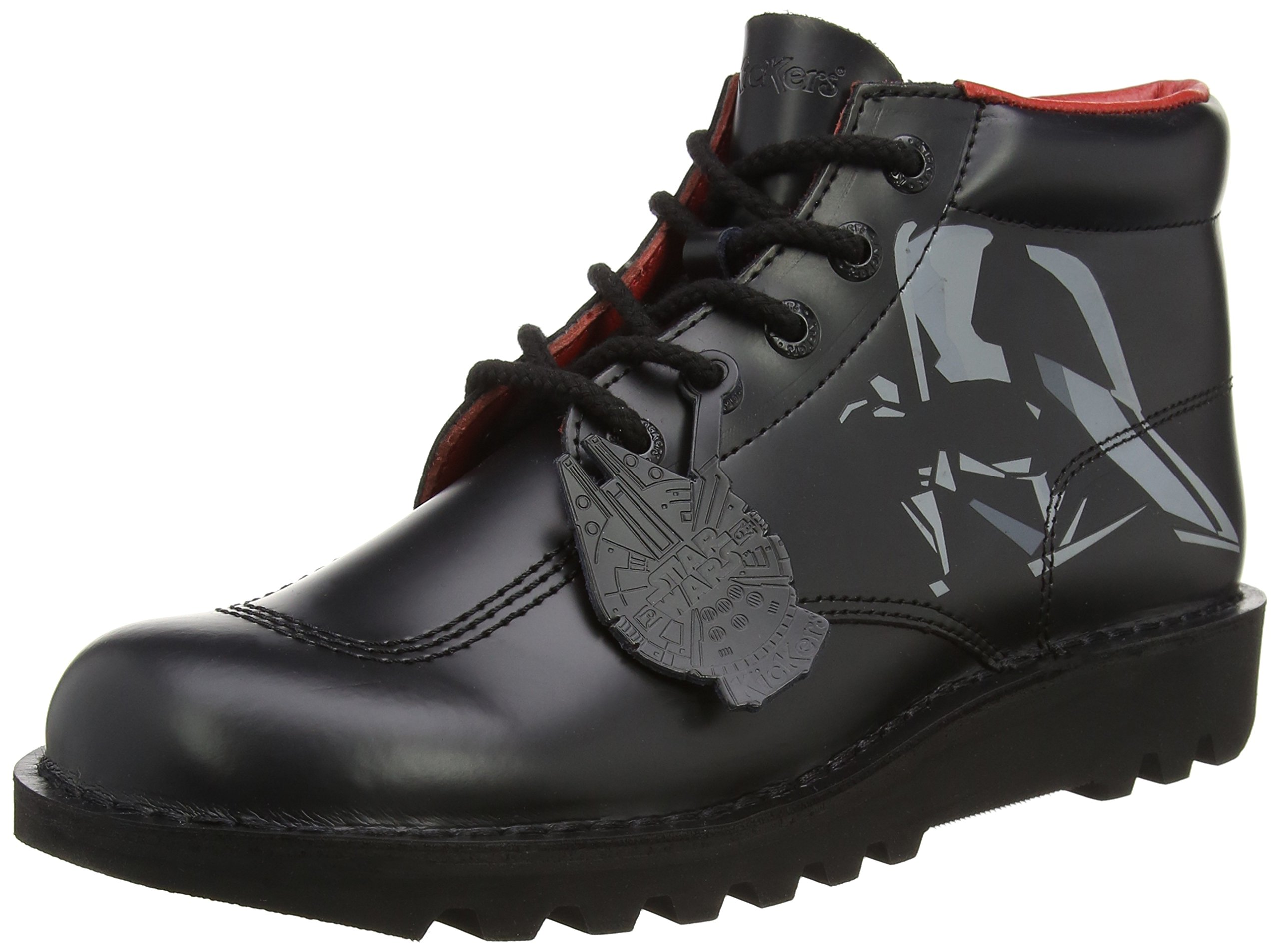 Lthr Noir43 Classiques Vader HommeNoir AmBottes Kickers Print Darth htQorBsdxC