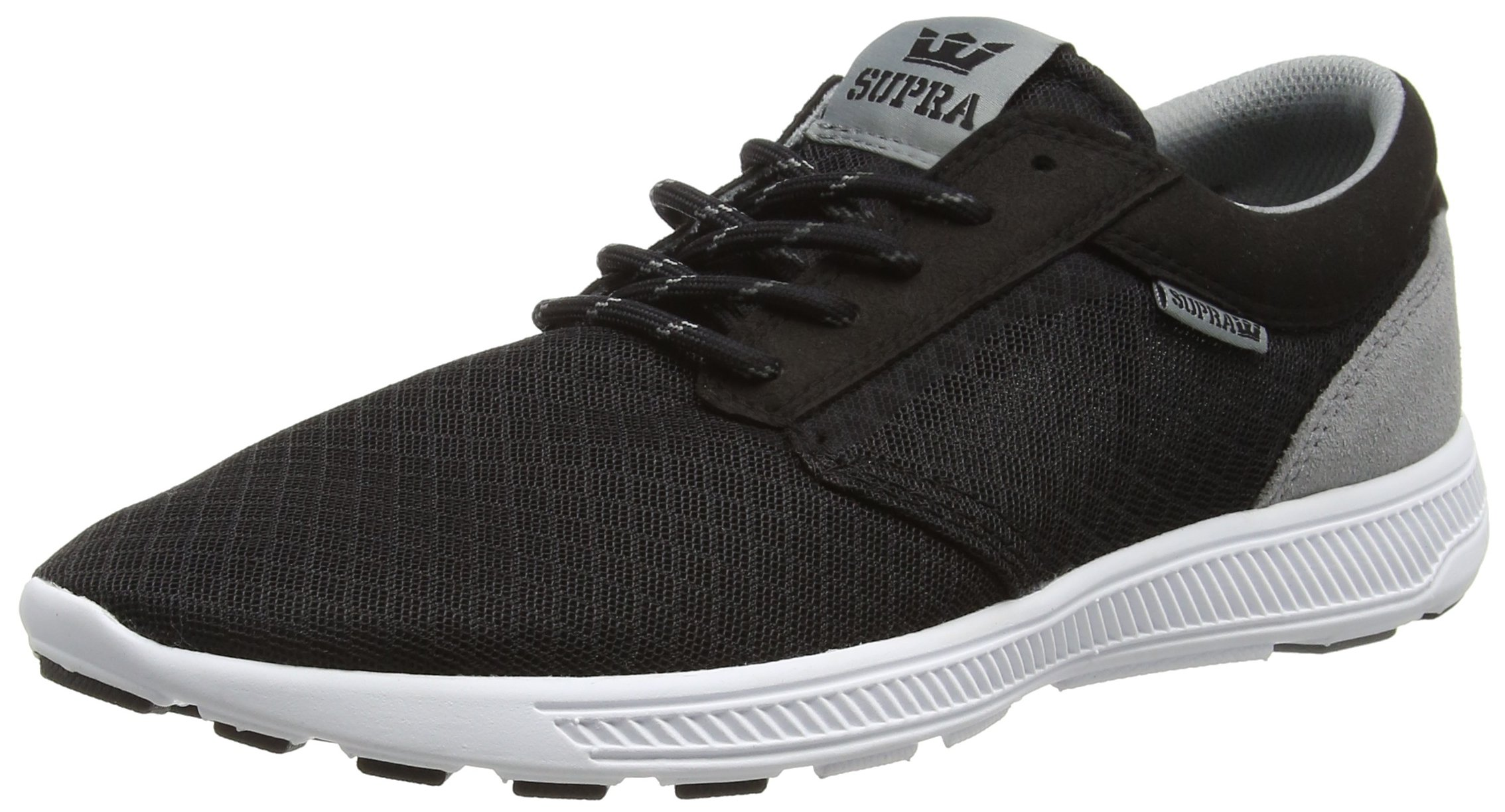 Supra Mixte Hammer RunSneakers AdulteNoirblackGreyWhite 5 Basses Bgr37 FKcTl1J3