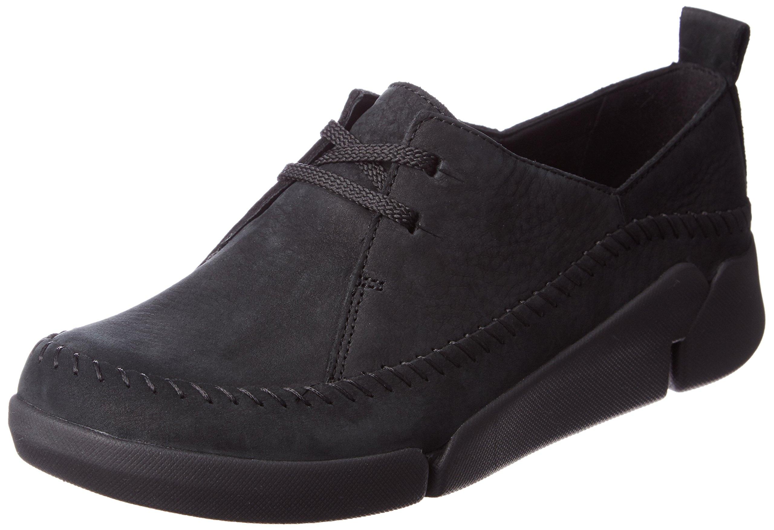 Basses Lea41 5 Tri AngelSneakers Clarks Combi FemmeNoirblack ZiulOkwTPX