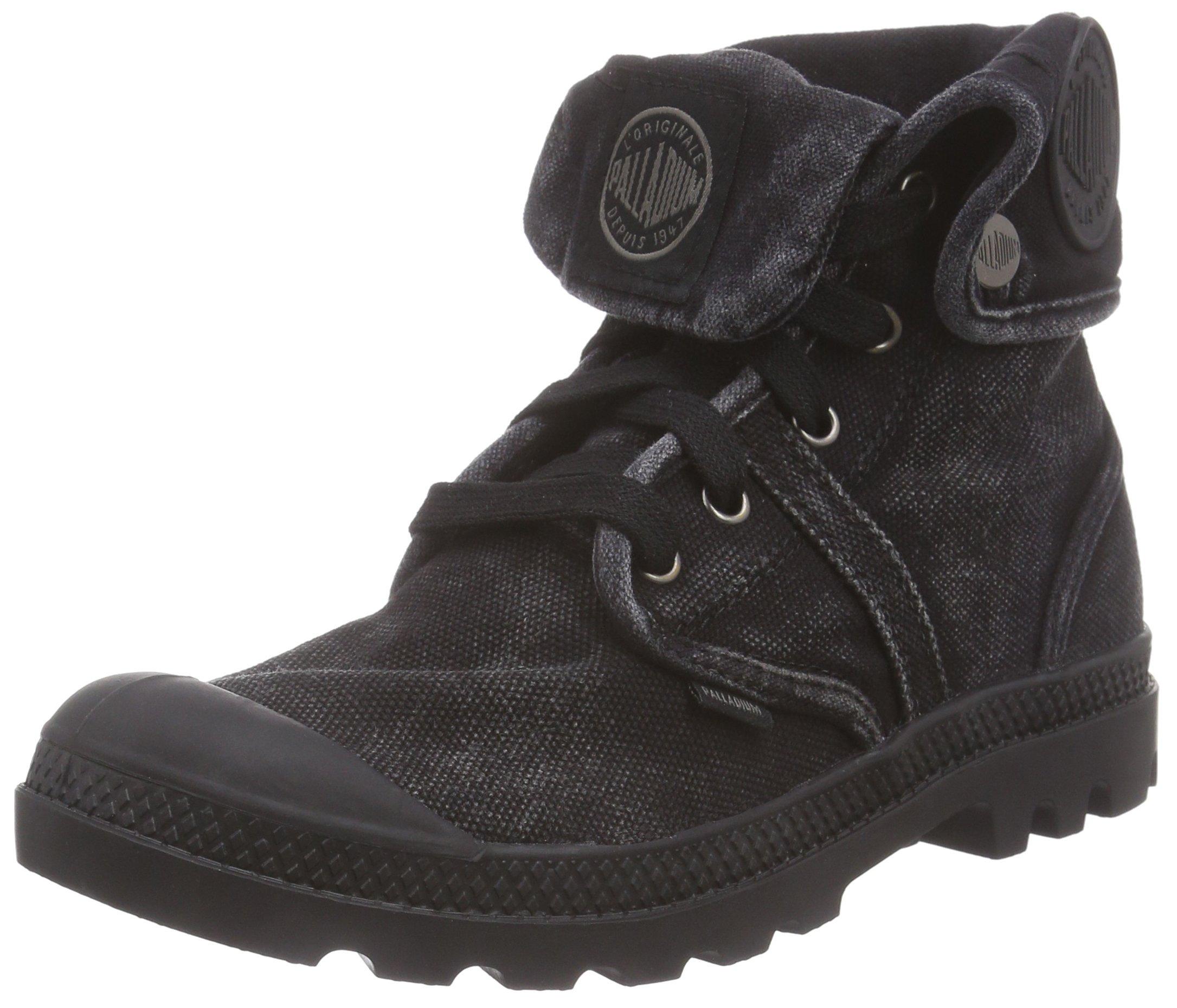 Pallabrouse BaggyDesert Blackblack Boots FemmeNoir Palladium metal42 E9H2DI