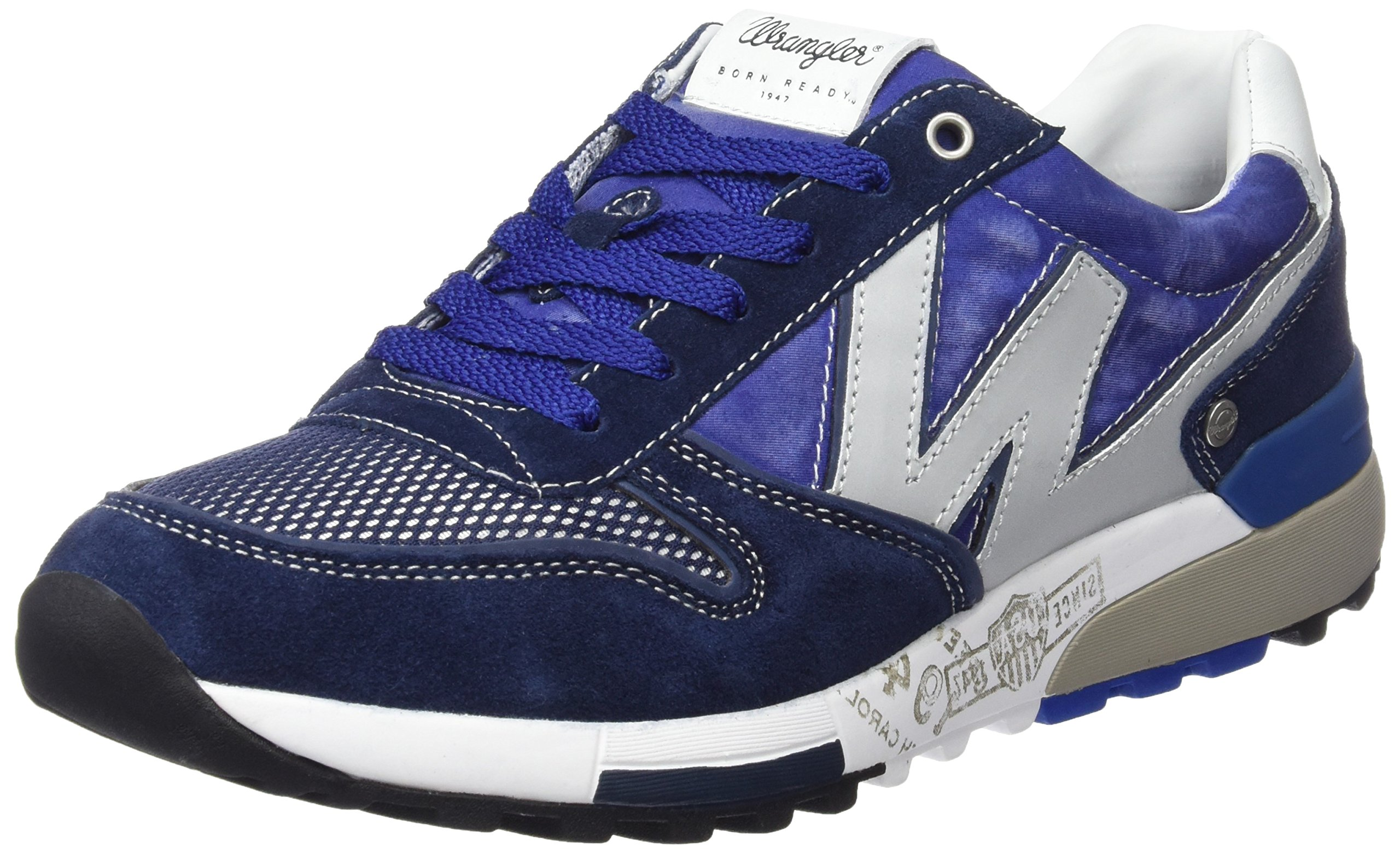 Wrangler DkNavy Blau353 HommeBleu royal45 SundaySneakers Basses 80ZkwOXNnP