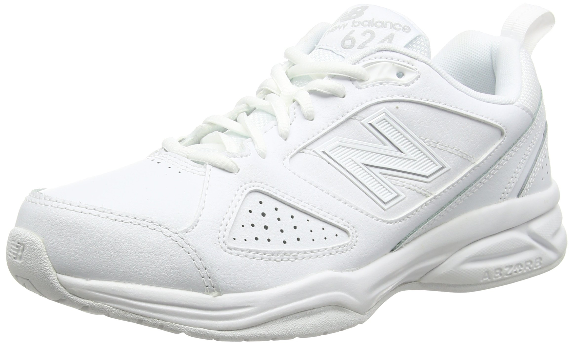 Indoor Multisport Uk Mx624aw4 Eu10 10045 Balance 624Chaussures 5 New HommeBlancwhite v80OnNmw
