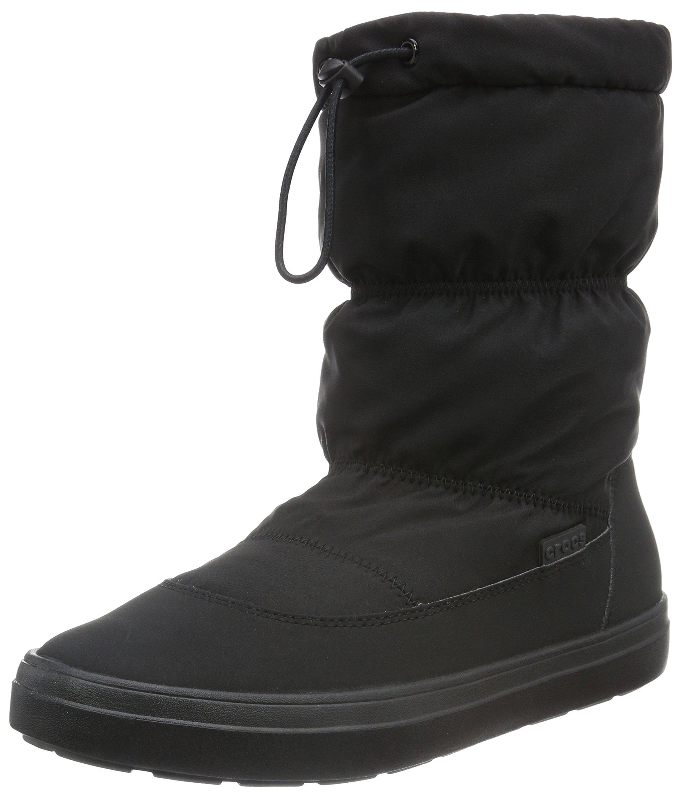 Eu WomenBottes Lodgepoint on 43 Pull Boot FemmeNoirblack42 Crocs eD2HIYb9WE