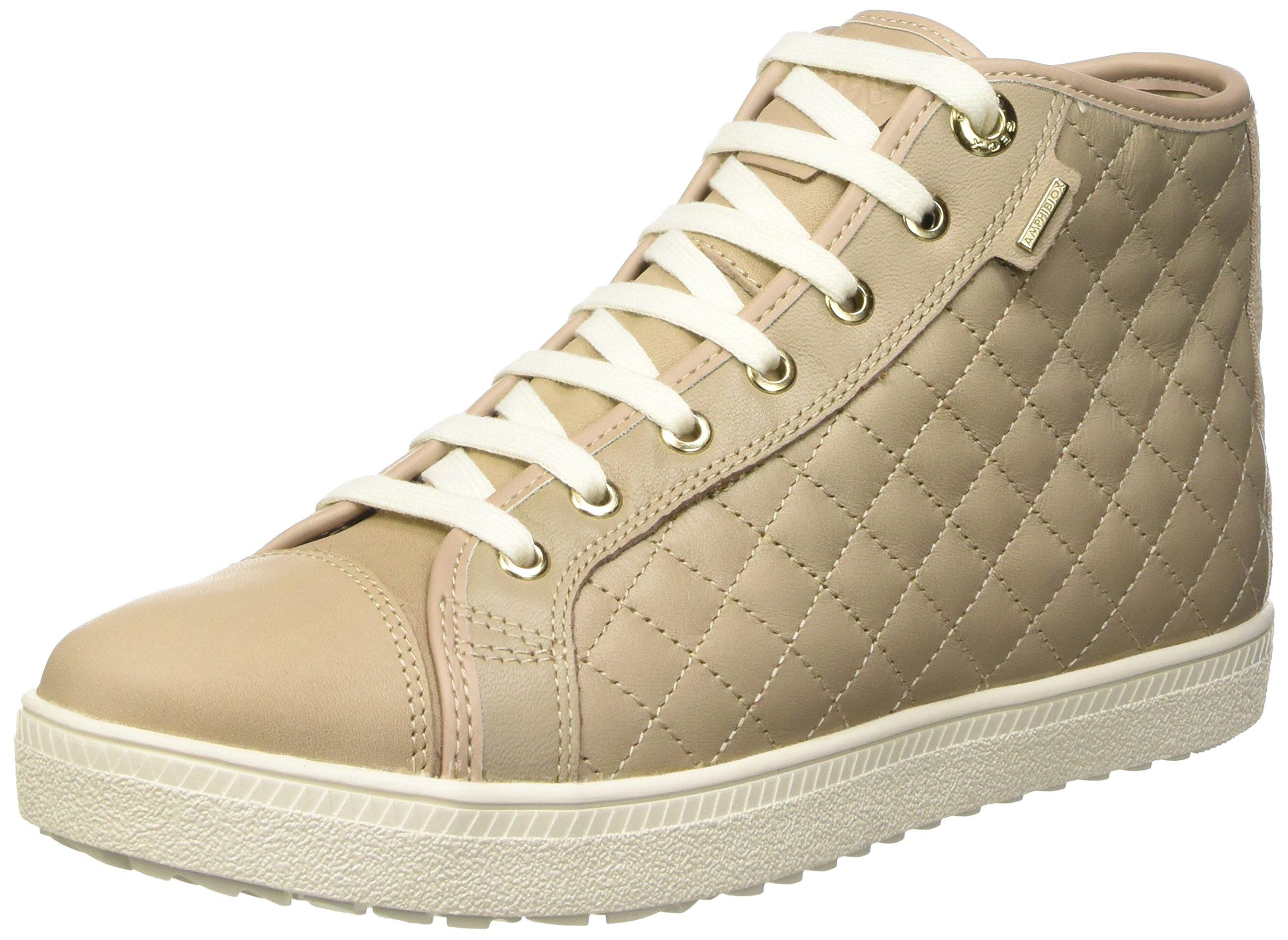 Eu Amaranth B Abx Geox ASneakers FemmeBeigec673836 D Hautes tshrCQd