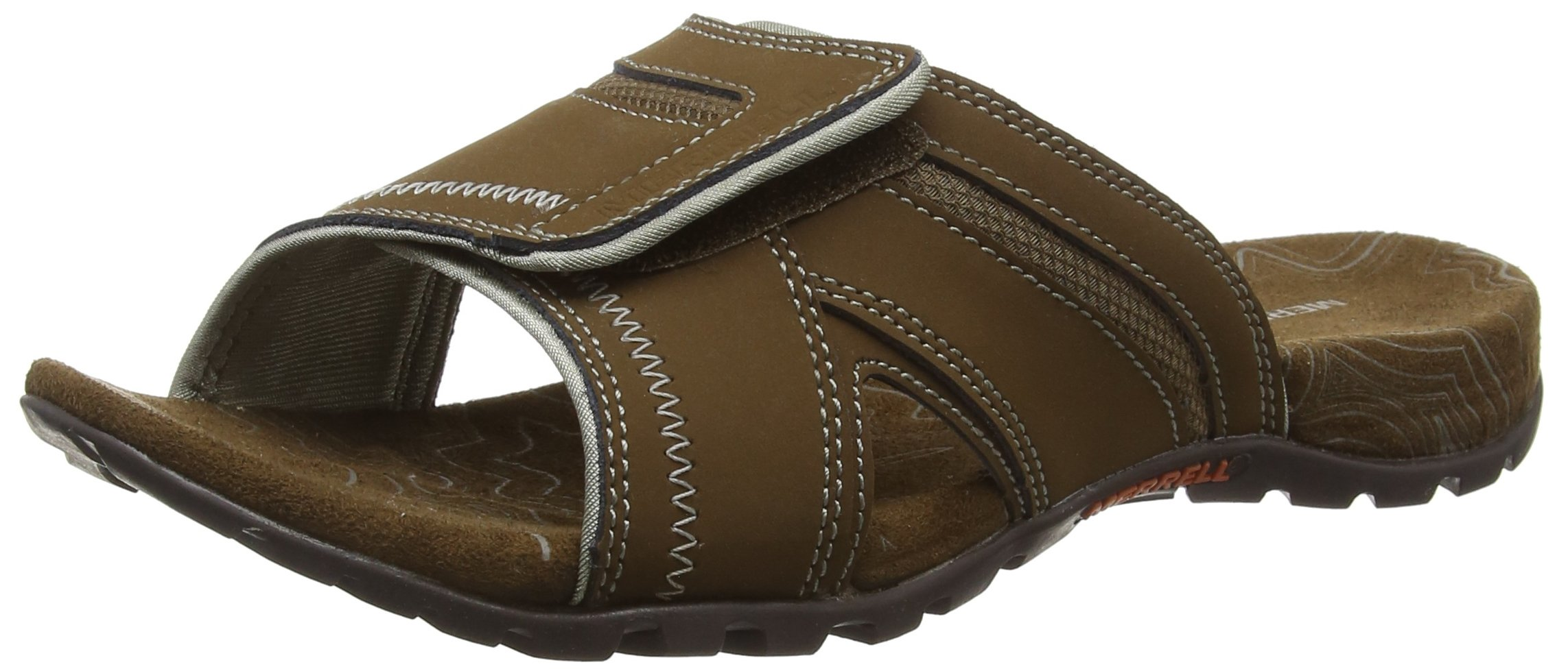 Earth Bout Merrell Homme Sandspur Sandales Clay 46 Ouvert Eu potting Pine Dark QCxWredBo