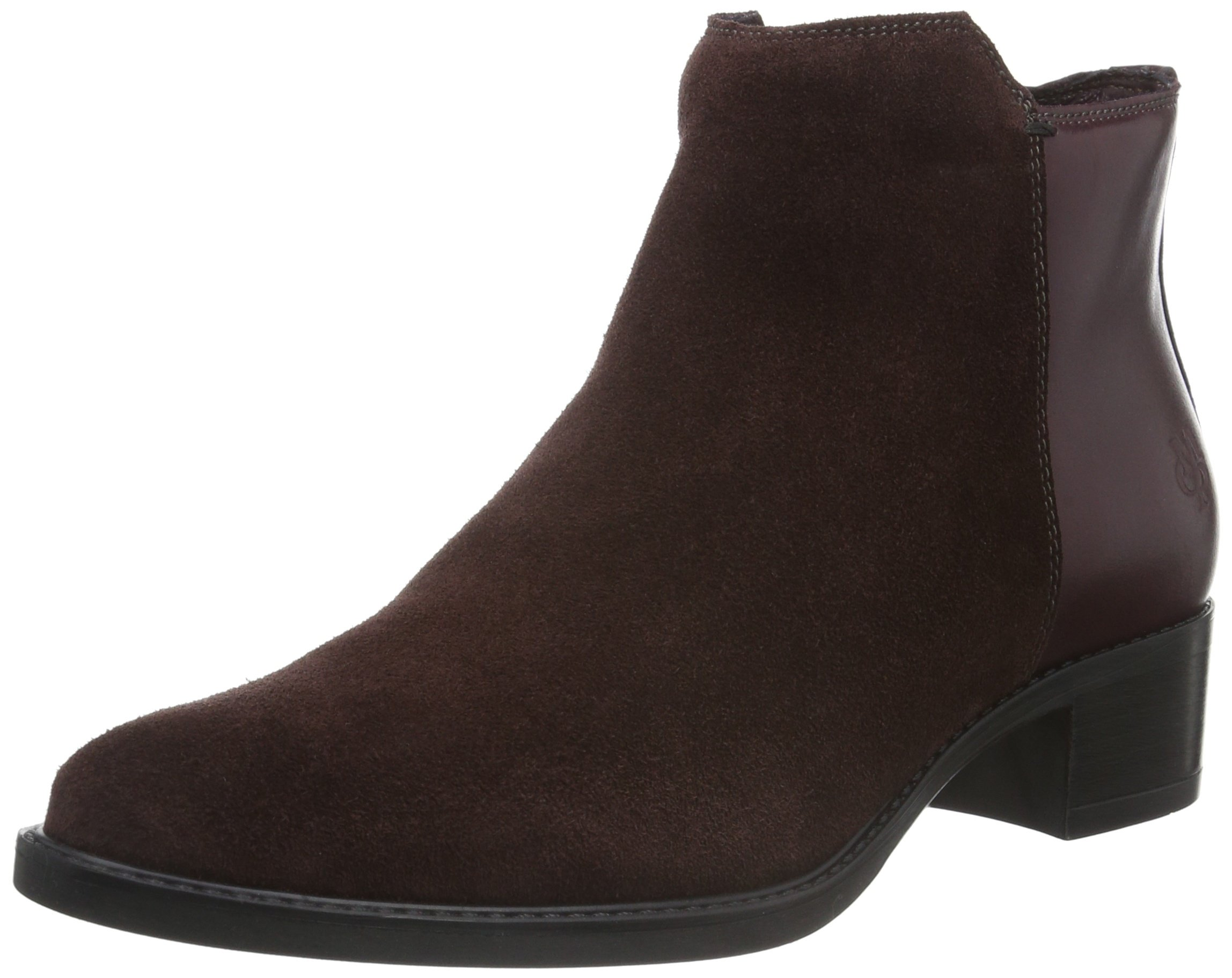 Marc Rotwine BootieBottes Mid 38539 Heel Classiques FemmeRouge O'polo HWE9I2D