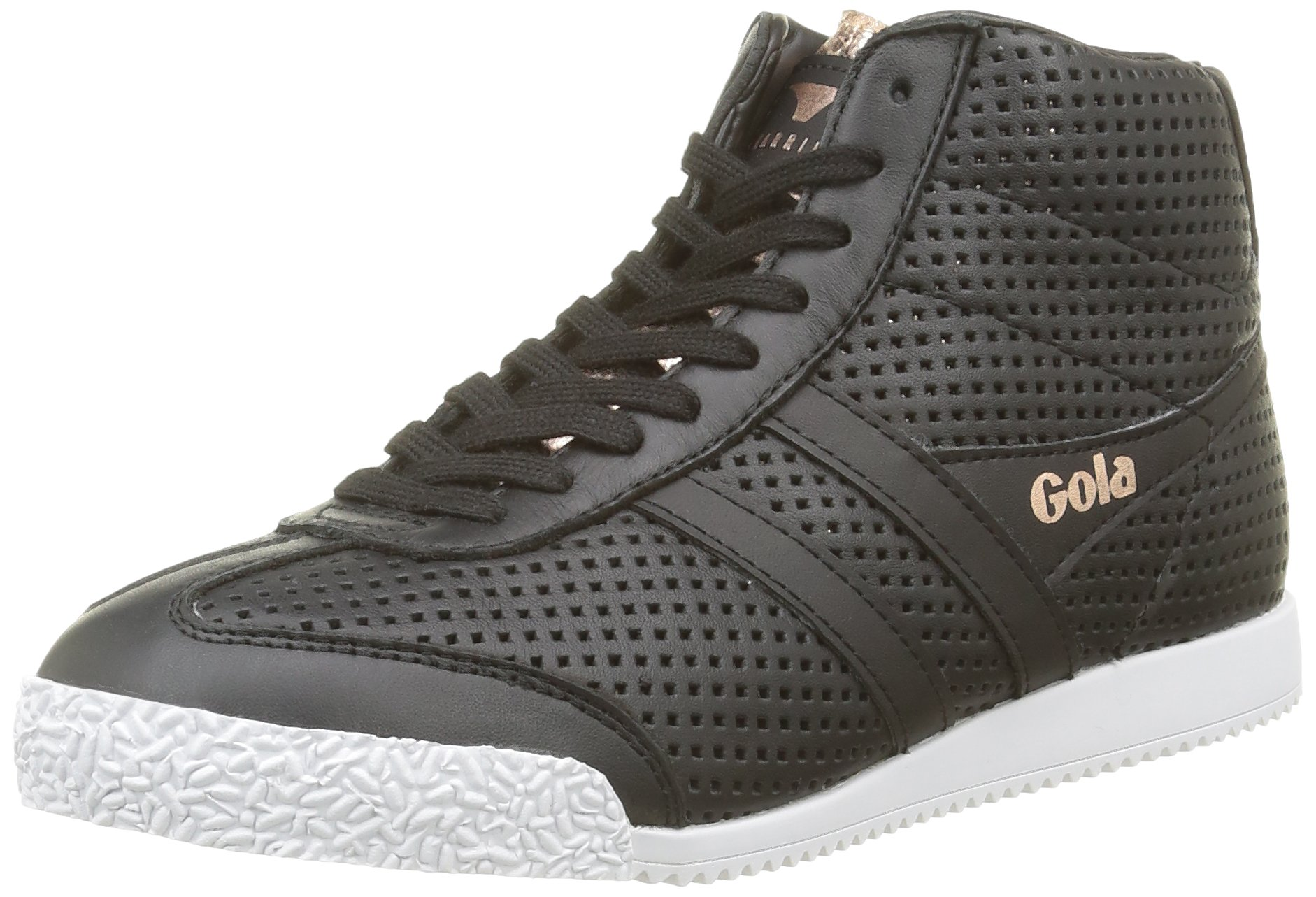 Harrier Glimmer rose Leather FemmeNoirblack Basses Gola Eu High Baskets Gold39 wXO80Pkn