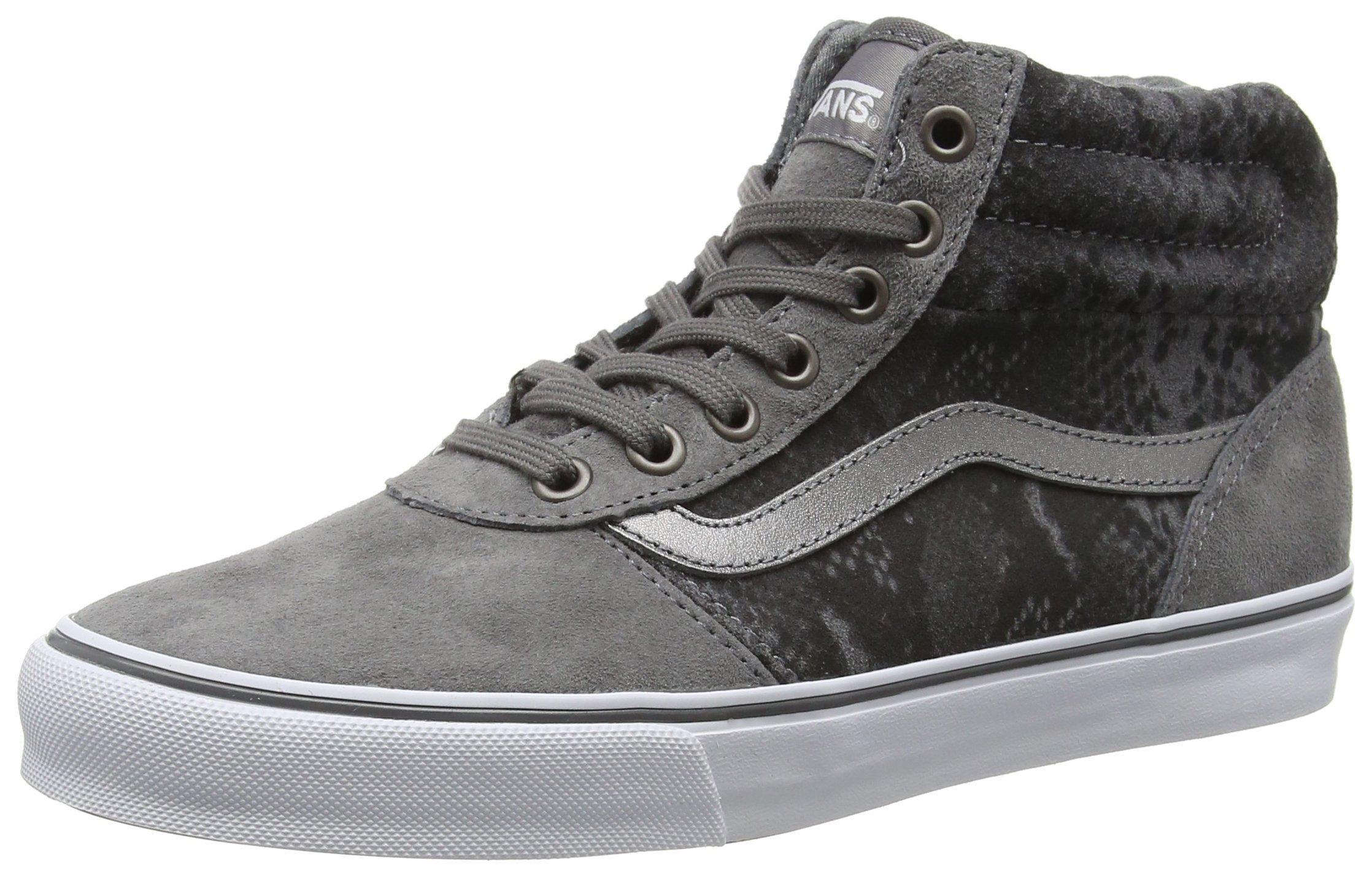 HiSneakers 5 Eu Milton tan36 Gray FemmeGrismte Vans Hautes Snake tsQxhrdCB