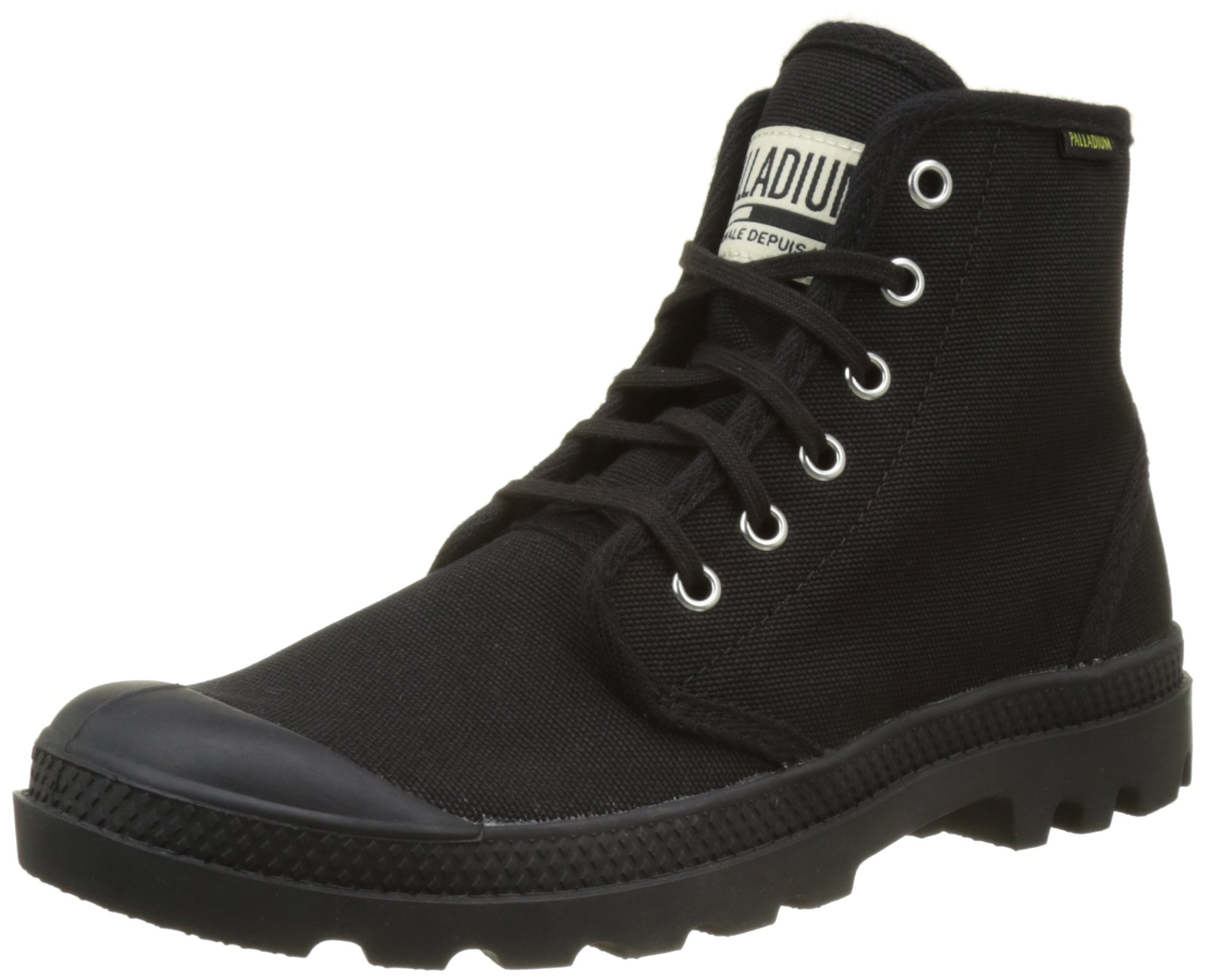 Palladium Eu Mixte Pampa Black44 Hautes OriginaleBaskets AdulteNoir Hi xhrsdtBQC