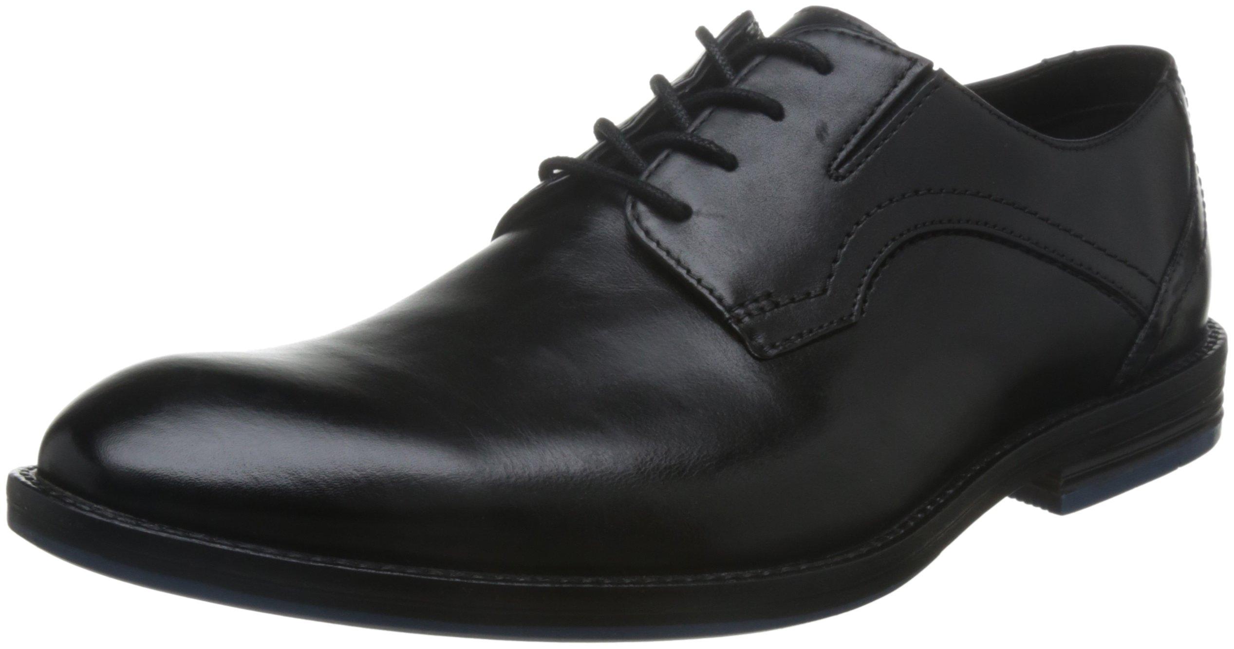 Clarks Prangley WalkDerby Leather40 Eu HommeNoirblack fvYb6y7g