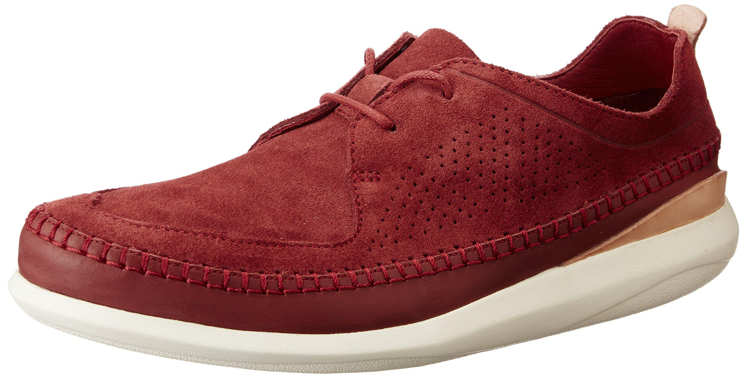 HommeMarronbrick41 Pitman Eu Clarks Basses Free Sneakers kZuOwPXTi