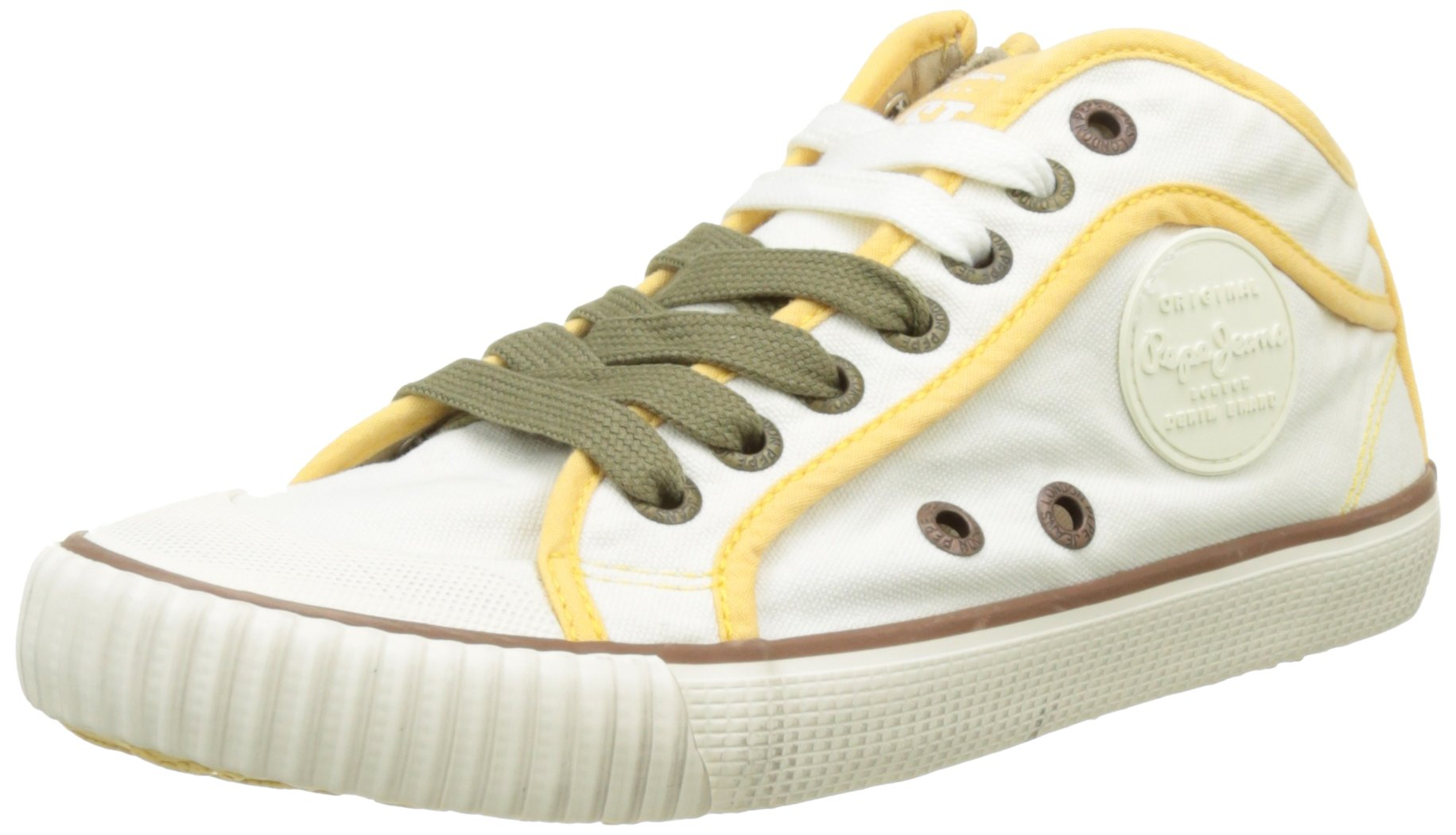 Pepe LondonSneakers FemmeBlancoff Jeans Basses White37eu tsQrdCh