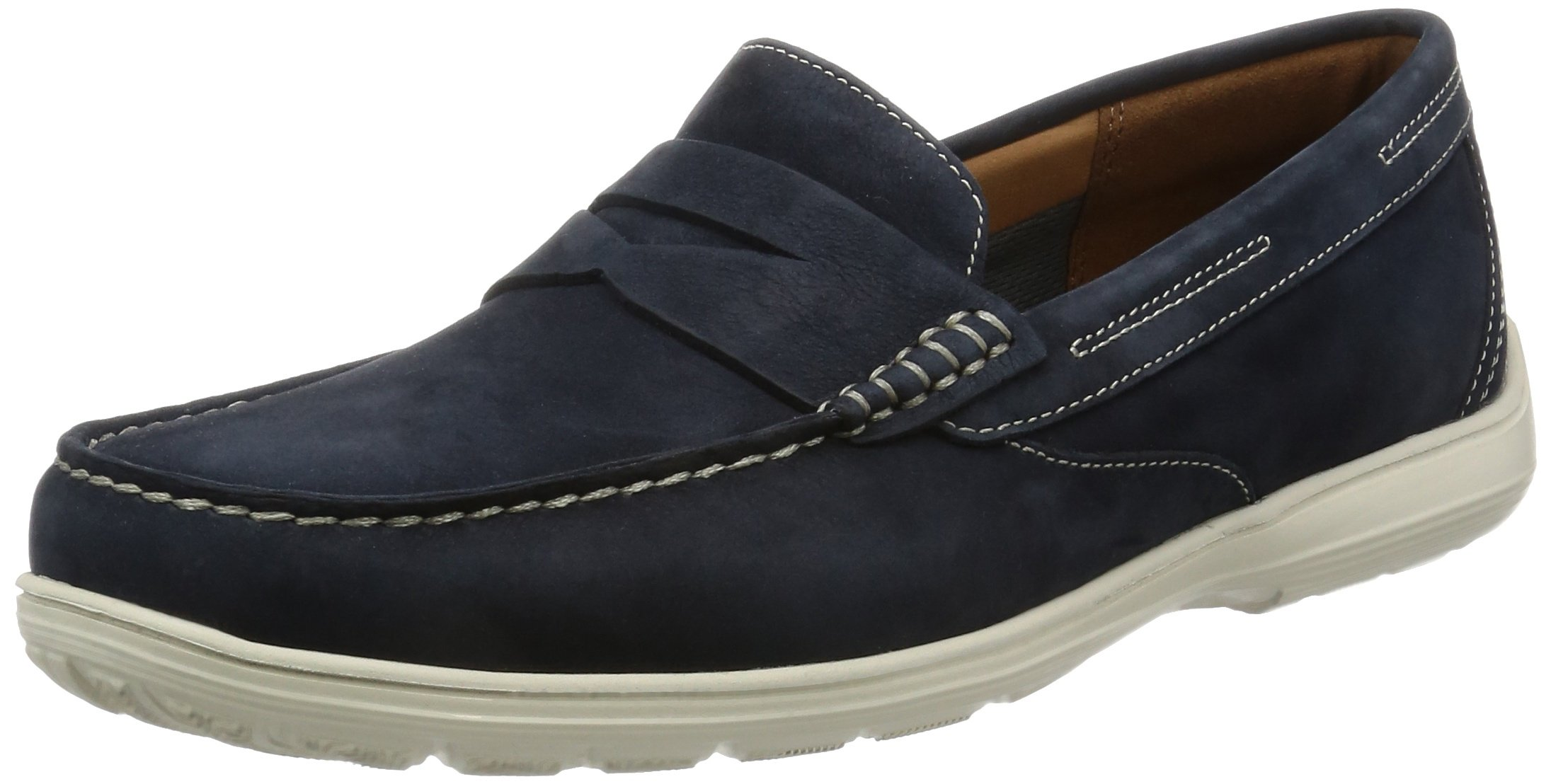 Total Dress Blue42 Motion PennyMocassins 5 Loafer Rockport Eu HommeBluenew A5LRj34