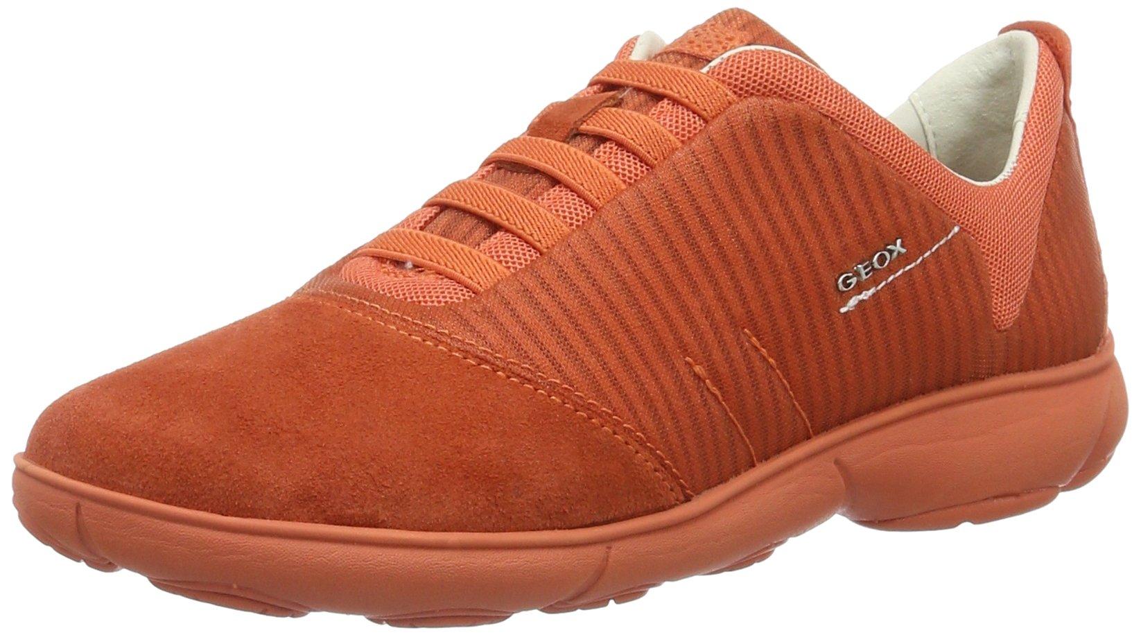 Geox FemmeOrangedk GBaskets Orangec701238 Basses Eu D Nebula jc3A4R5Lq