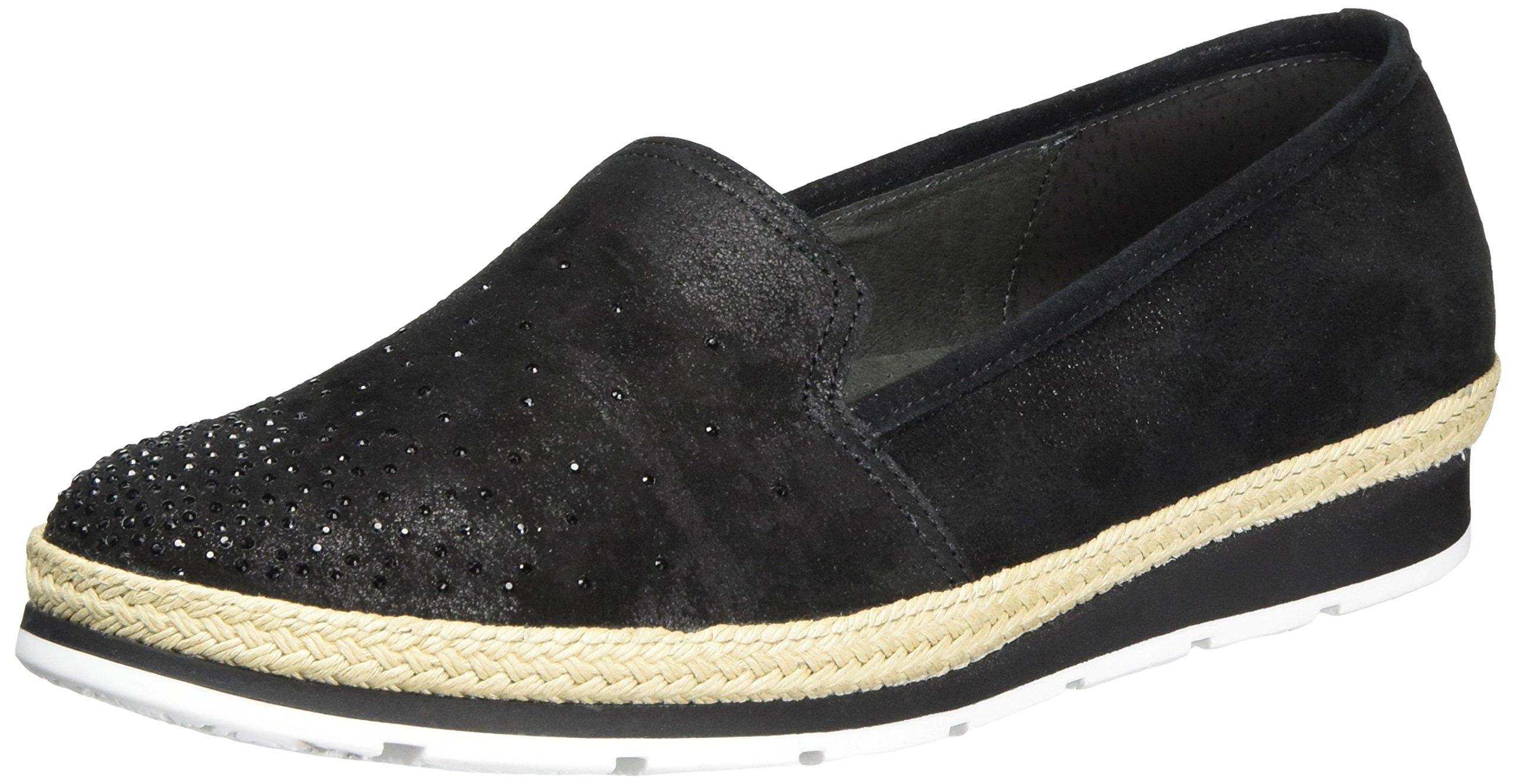 ComfortBallerines Jute40 Eu FemmeNoirschwarz Gabor Shoes 5RA4Lq3j