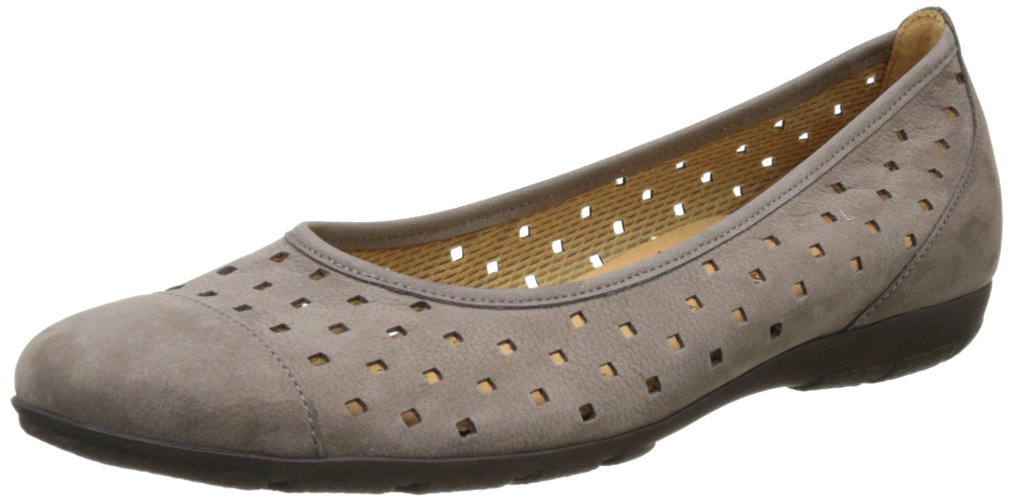 Shoes FemmeMarronfumo Gabor Eu 1336 FashionBallerines Rj4q3AL5