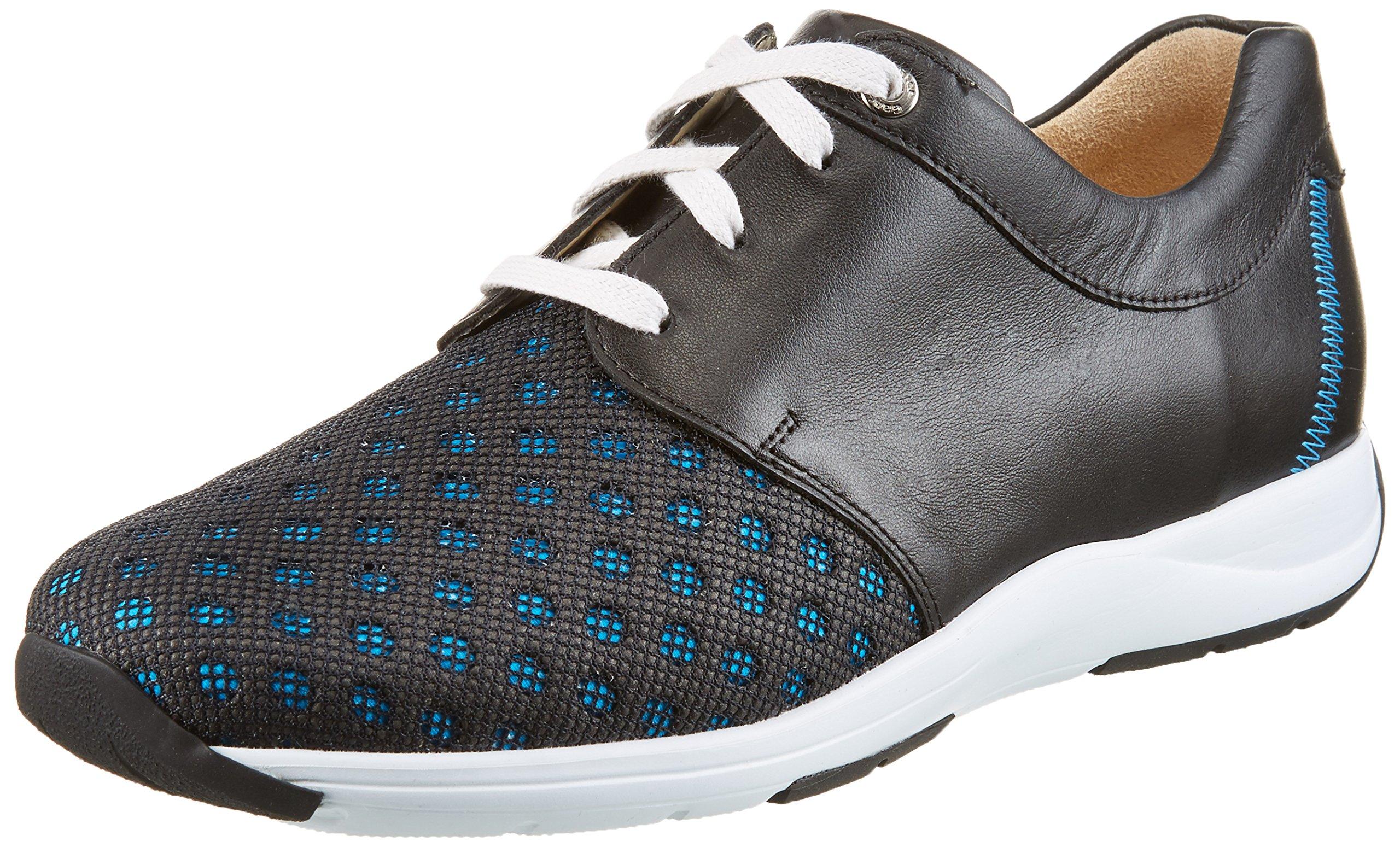 manufacture FemmeMehrfarbigblue Gianna Uk gSneakers Size Ganter Basses schwarz37 4 Eu XZkiTOPu