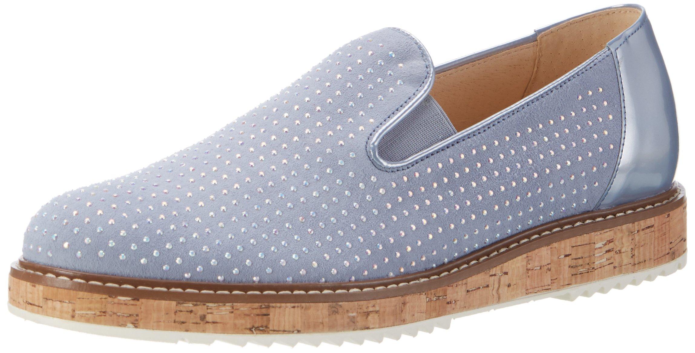 Gabor Shoes 1839 Eu FashionMocassins sky FemmeGrisaquamarin jLqUpzMSVG