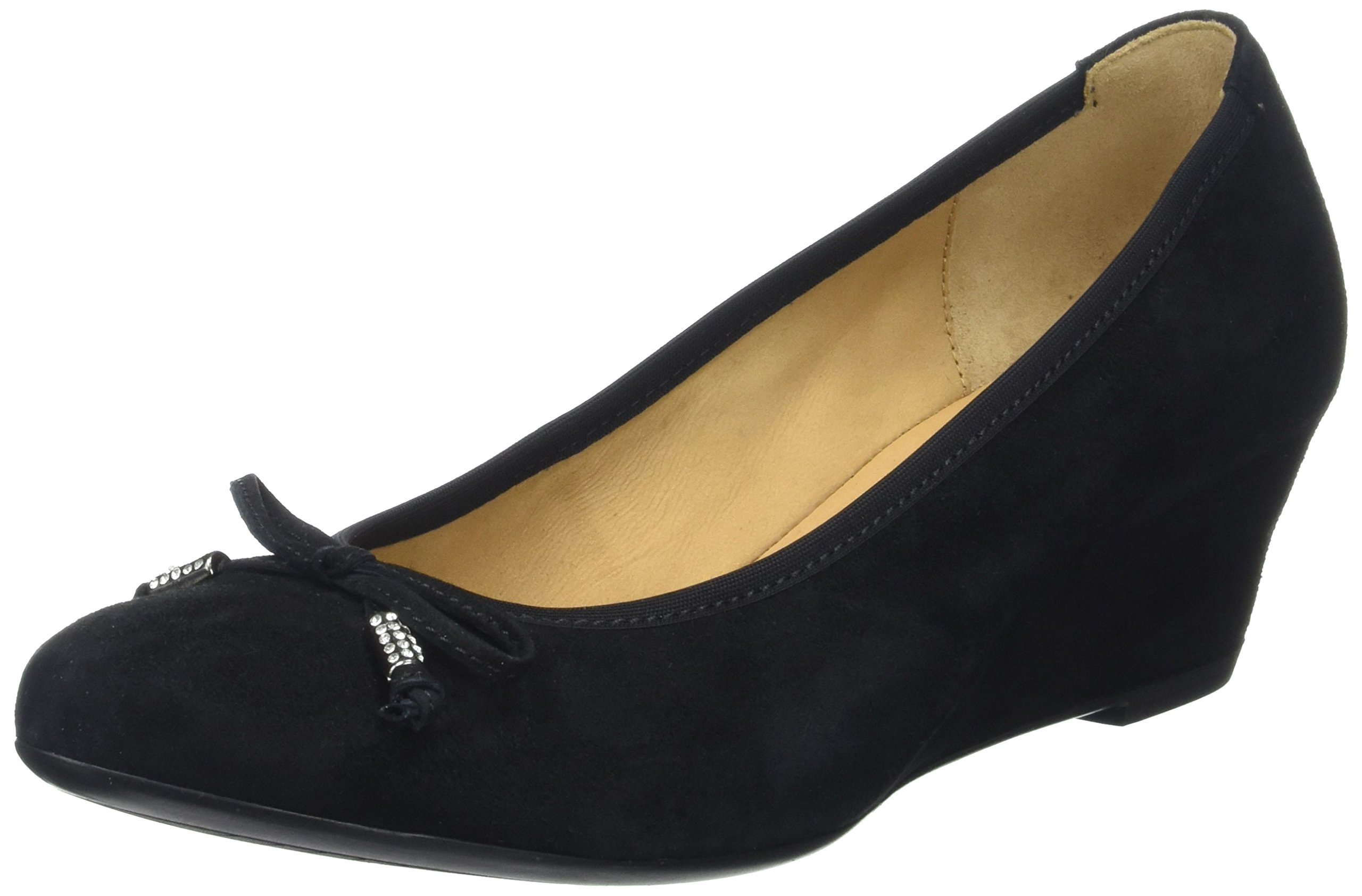 Eu Shoes Plateforme Plate Gabor FemmeNoirschwarz 5 À FashionPompes 1737 wkTPulOXZi