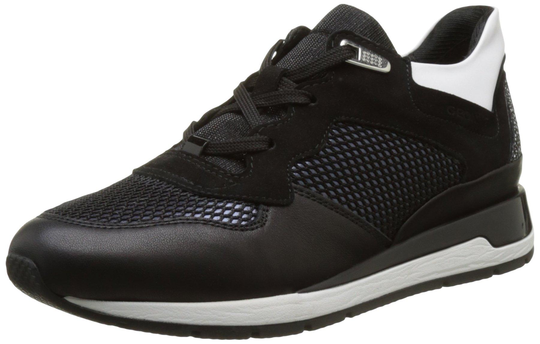 Geox D Basses BSneakers Eu Shahira FemmeNoirblackc999936 eWECBxQord
