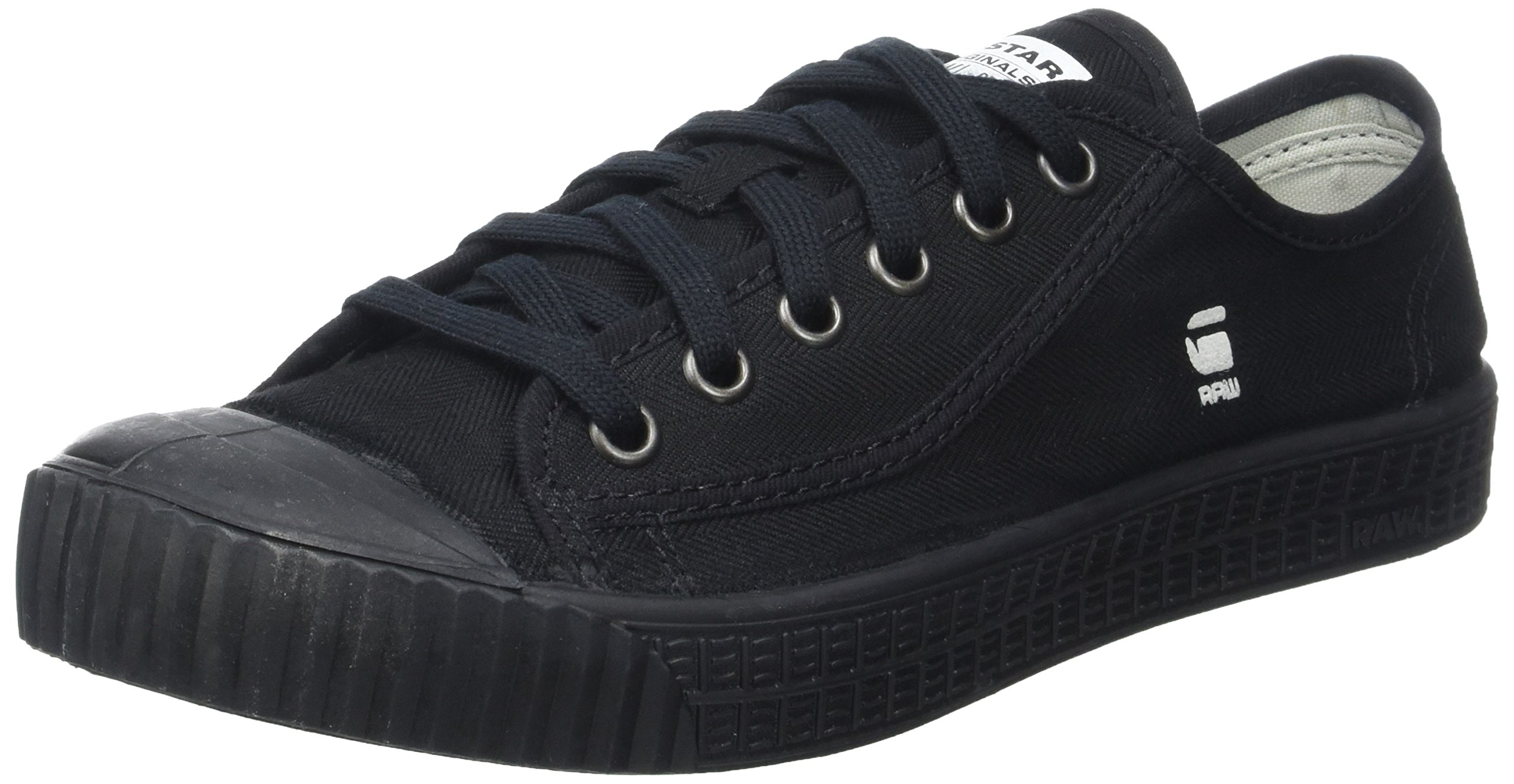 Denim Eu star Raw HommeNoirblack Low 99041 Rovulc SneakersBasses G vNwmn08