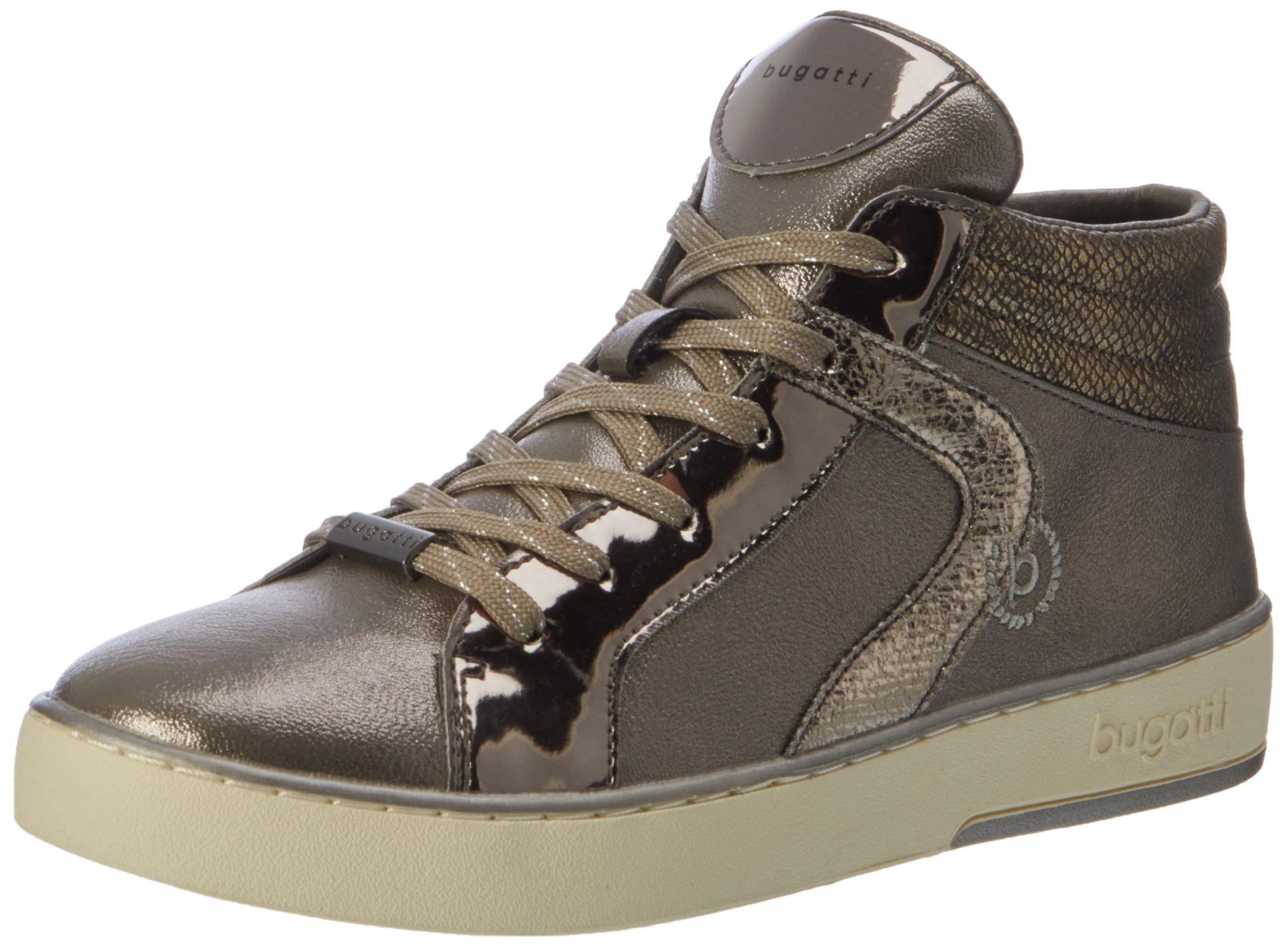 422291305050Sneakers metallic39 Eu Bugatti Hautes FemmeMarrontaupe R4j3AL5q