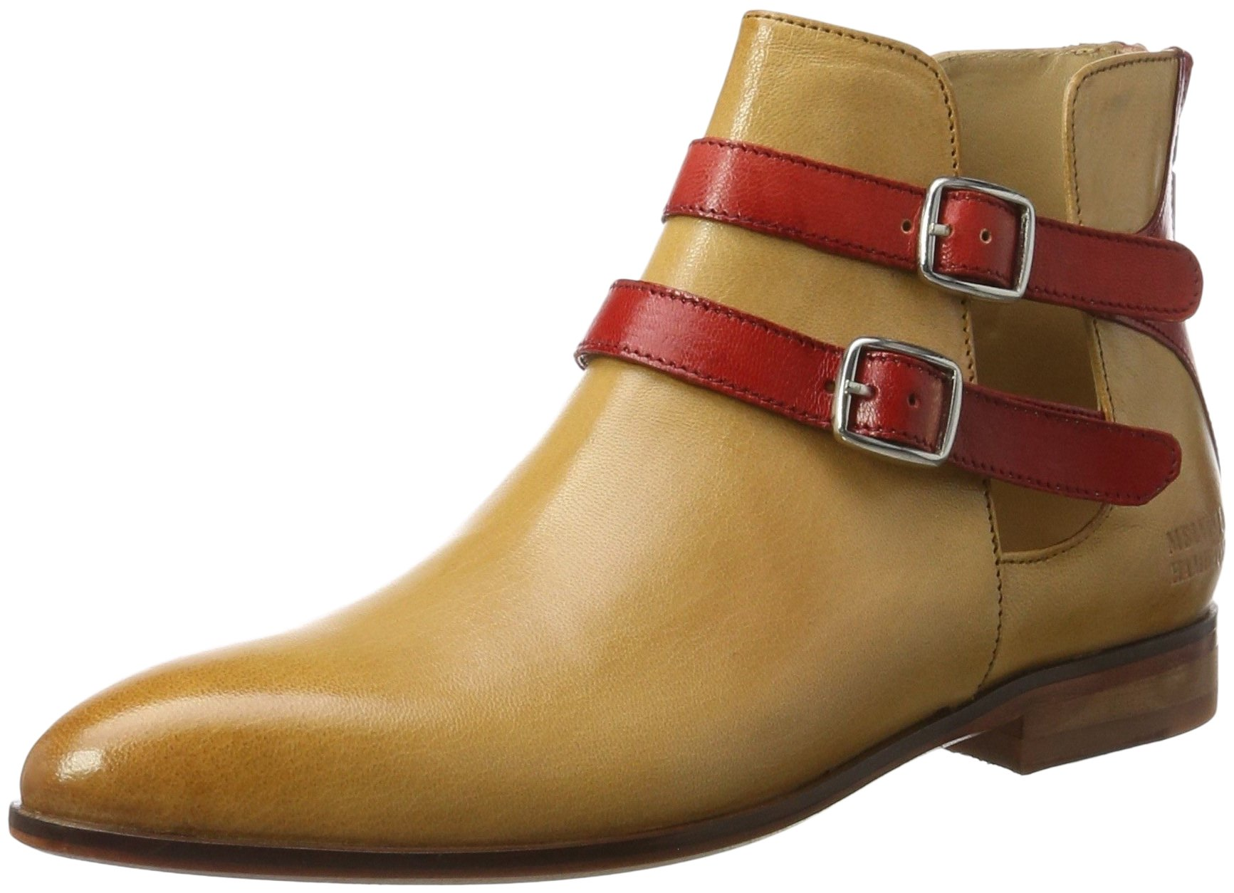 Ls nat42 Jessy FemmeVenice straps 19Chelsea Hamilton Red Melvinamp; Eu Boots Beige QChxtrsd