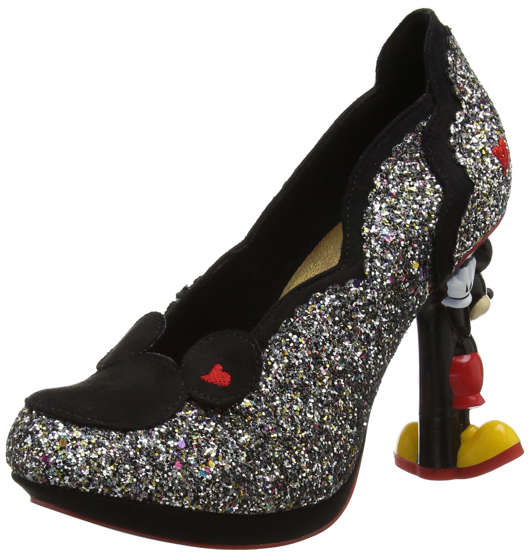Choice FemmeNoir Minnie MouseEscarpins Irregular Blackblack Glitter40 Multi Yf7yvbg6