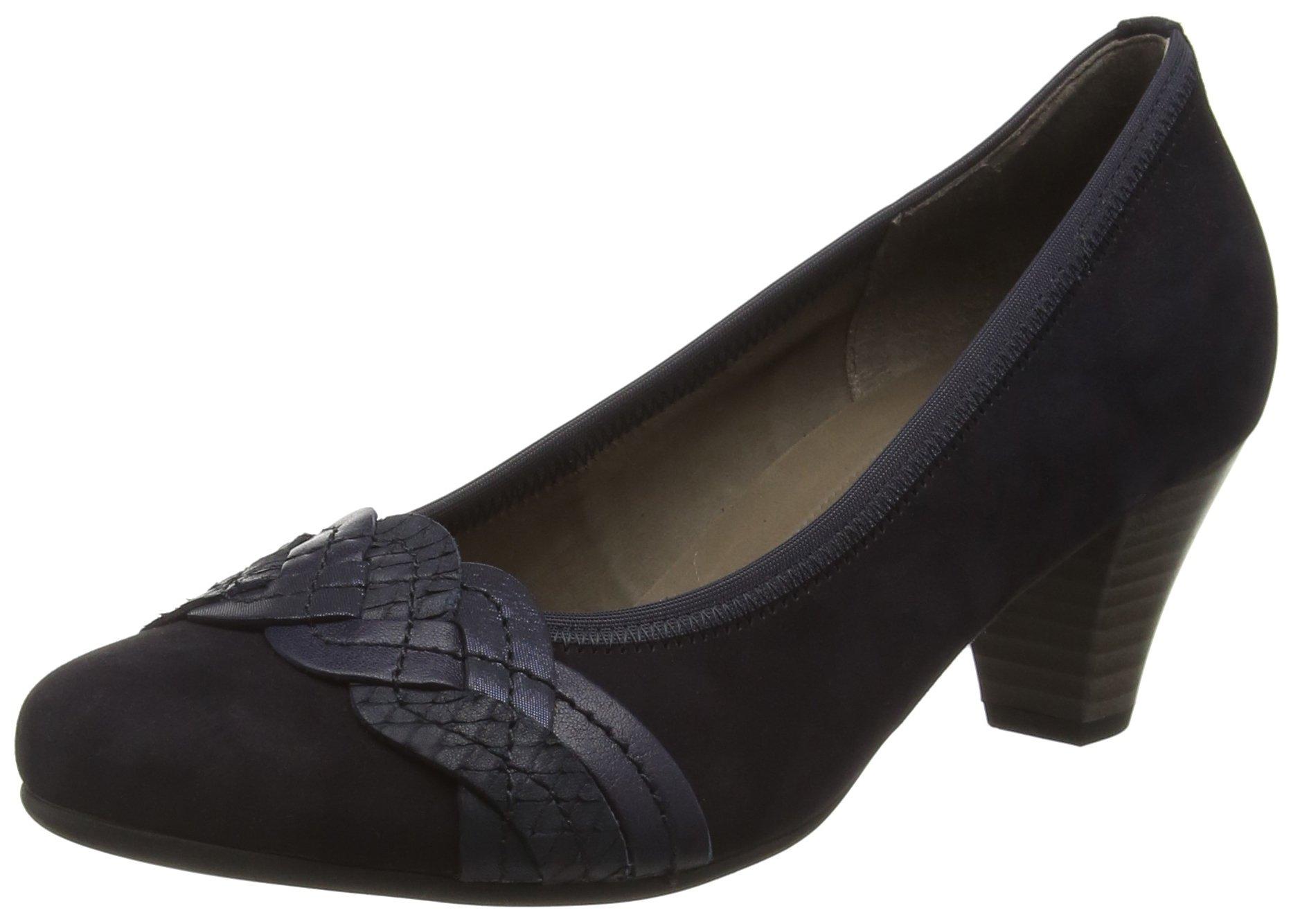 Shoes Pazifik 5 Eu9 Uk GaborEscarpins Gabor blue44 FemmeMulticolore16 ocean ZXTOPkiu