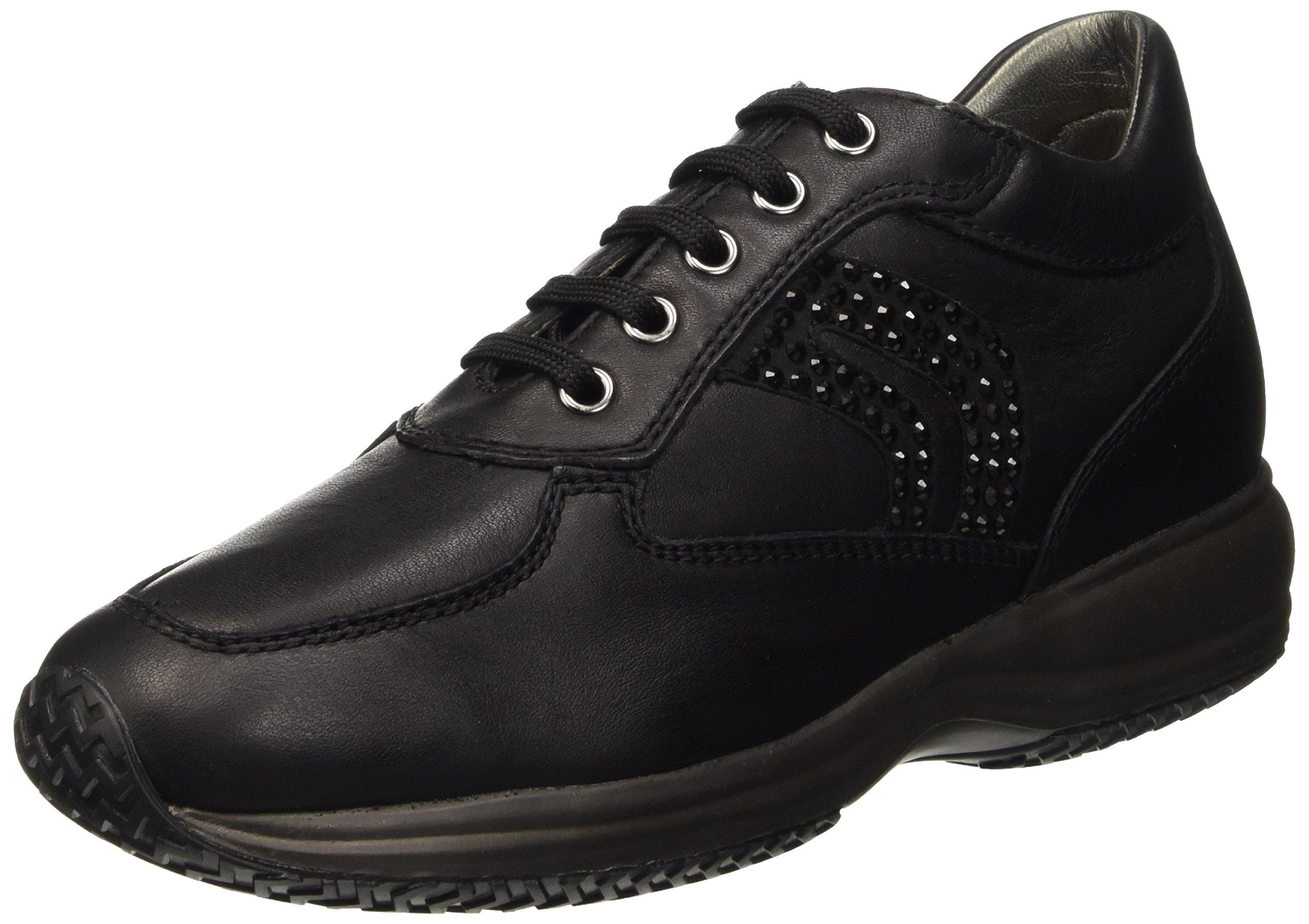 Hautes Happy CSneakers FemmeNoirblack Geox C999939 D Eu 7gf6ybIYv