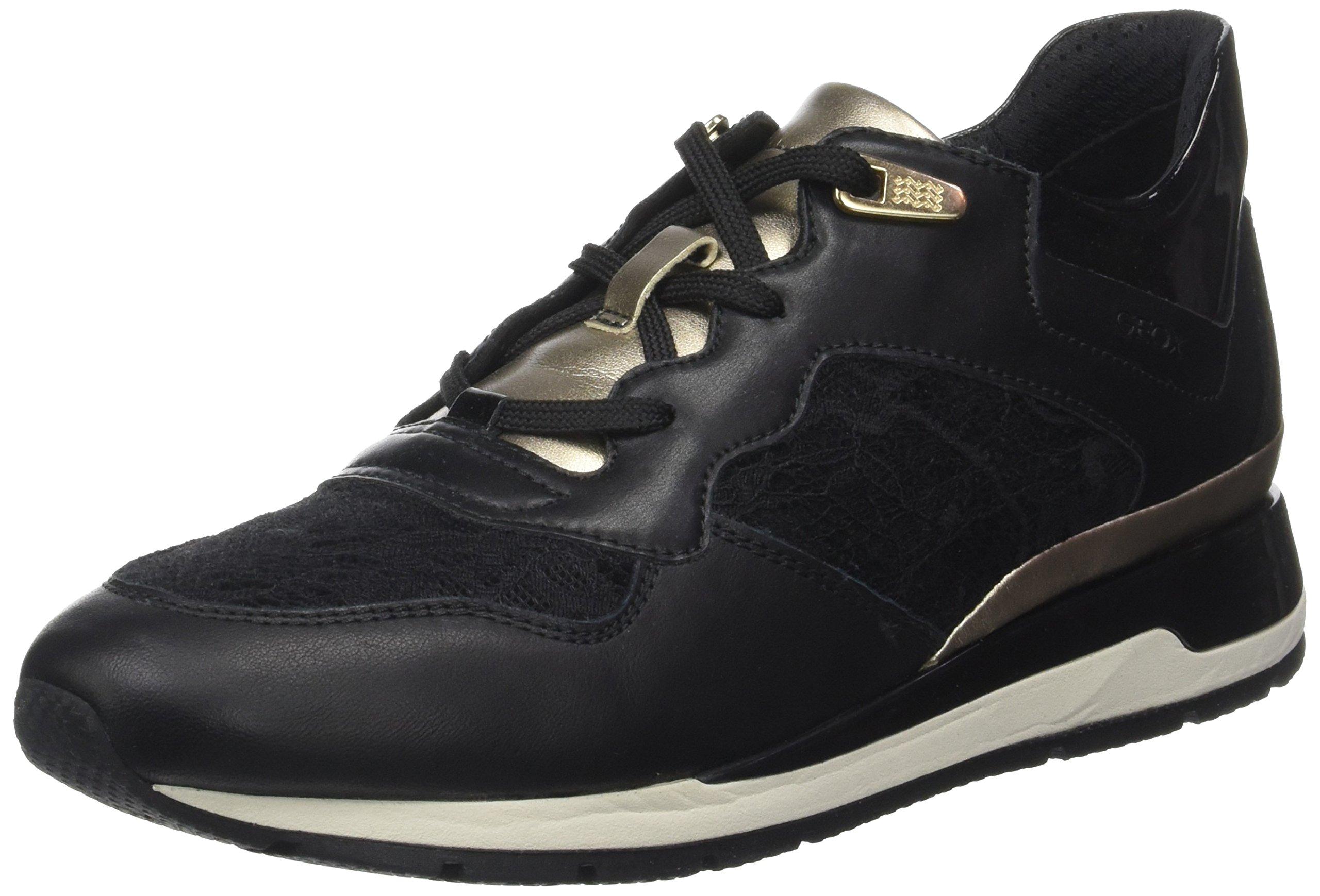FemmeNoirblack35 D Basses Eu Geox BSneakers Shahira LqUGMVSzp