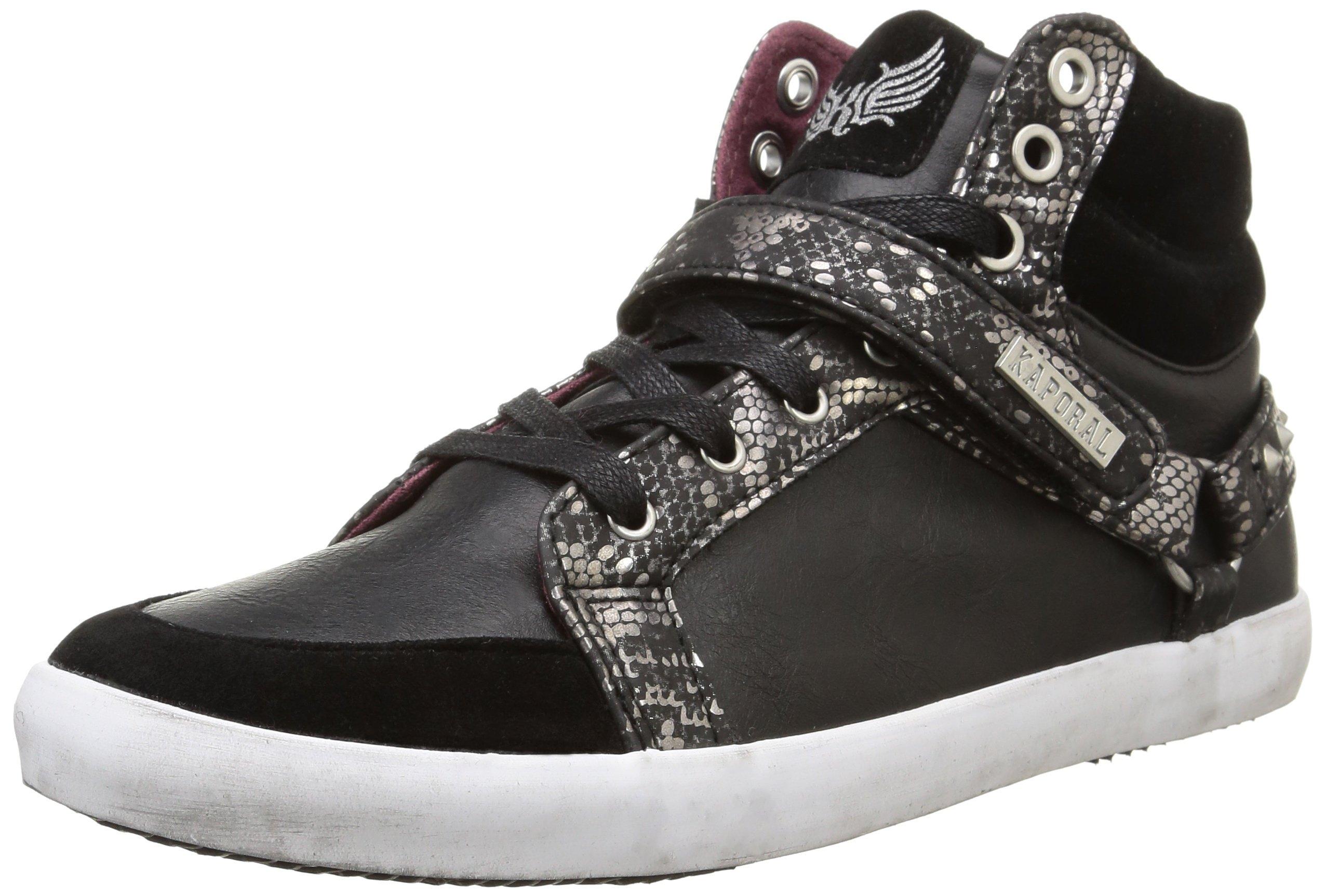 Kaporal Eu 38 Hautes Sneakers FemmeNoir Snoozy vNw0Om8n
