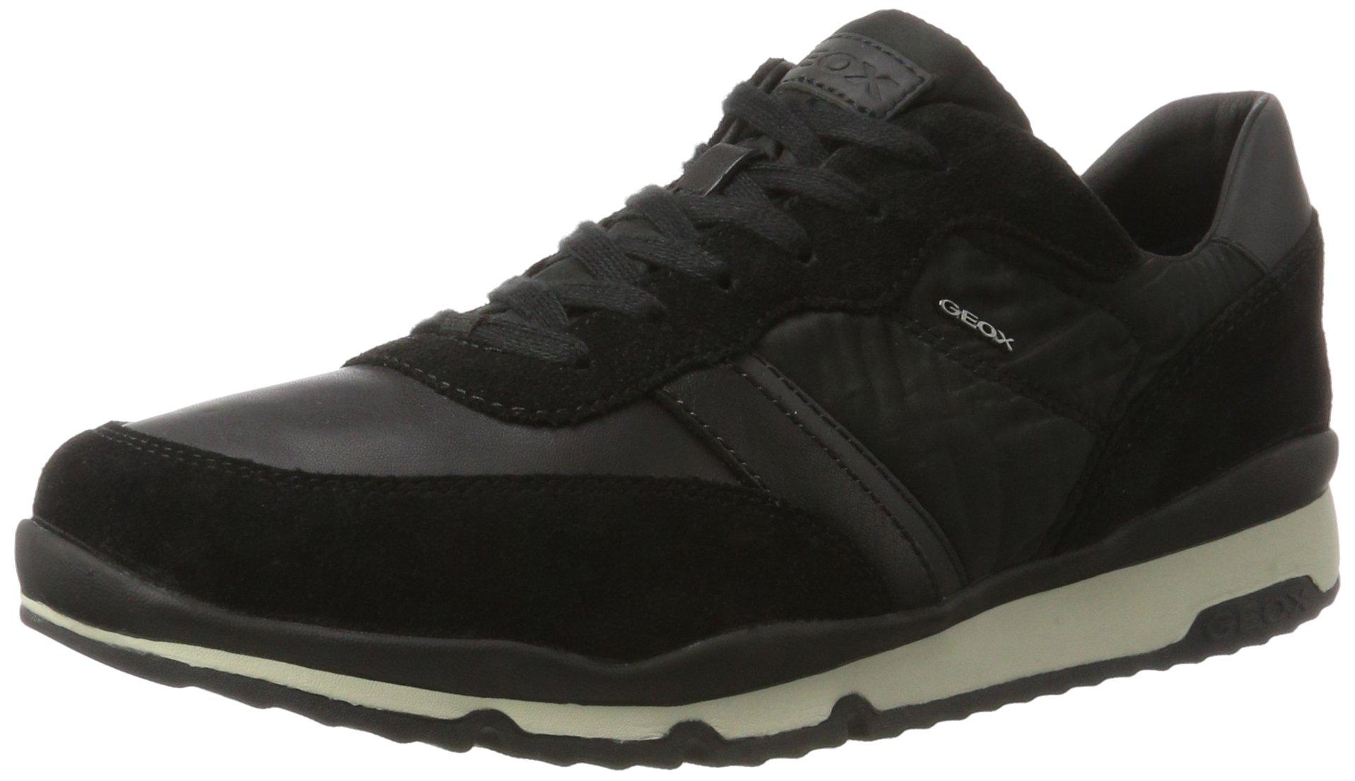 HommeNoirblack45 Geox Sandford BSneakers U Basses Eu bg6Y7yf