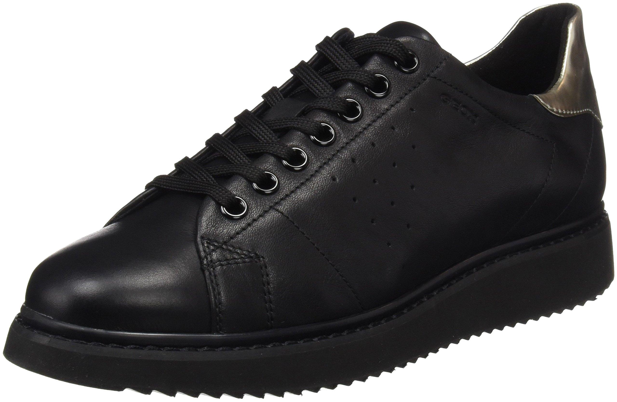 FemmeNoir Basses Black40 D ASneakers Eu Thymar Geox OkZTlPXwui